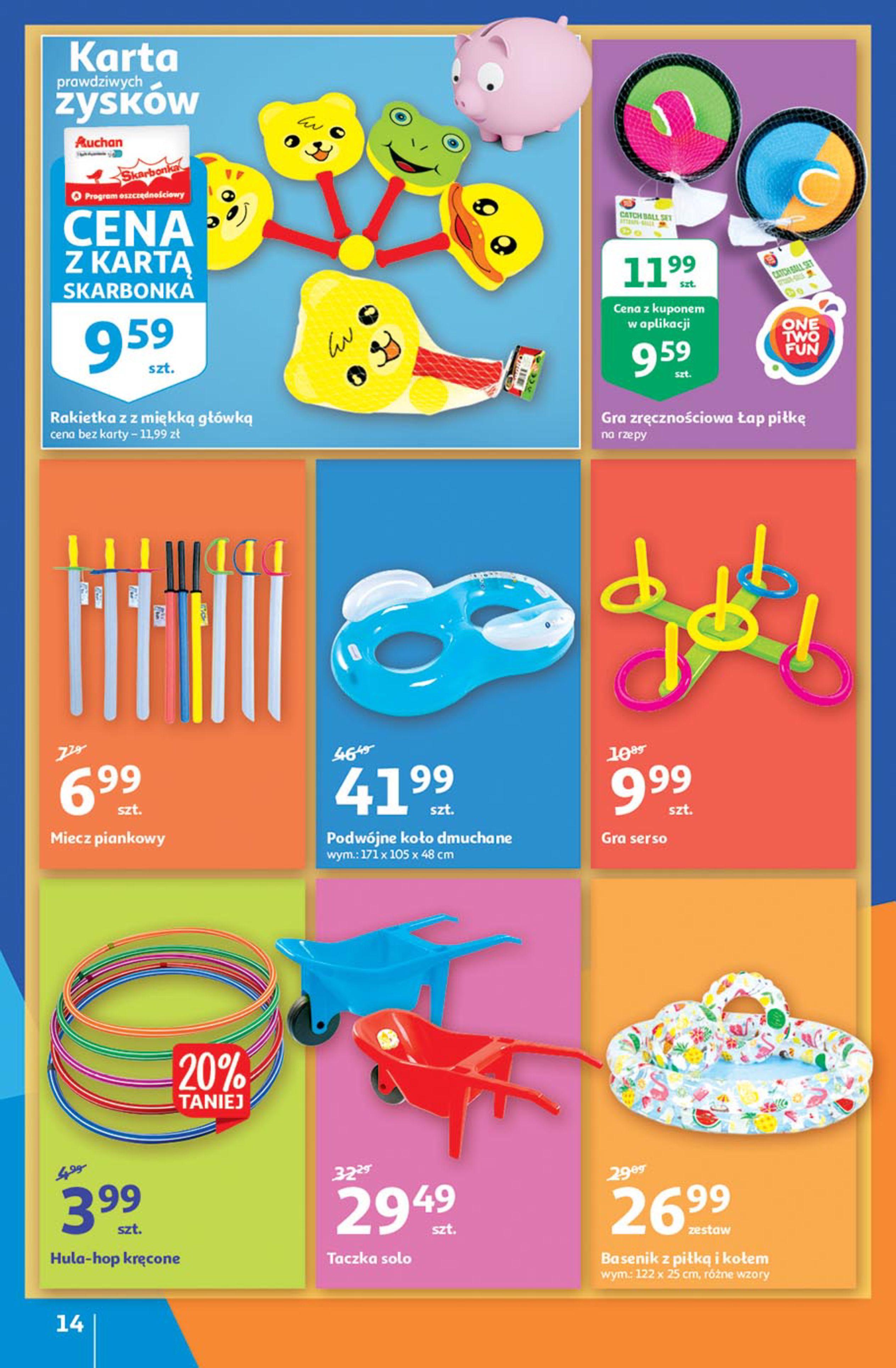 Gazetka Auchan: Gazetka Auchan - Euro 2020 2021-06-10 page-14
