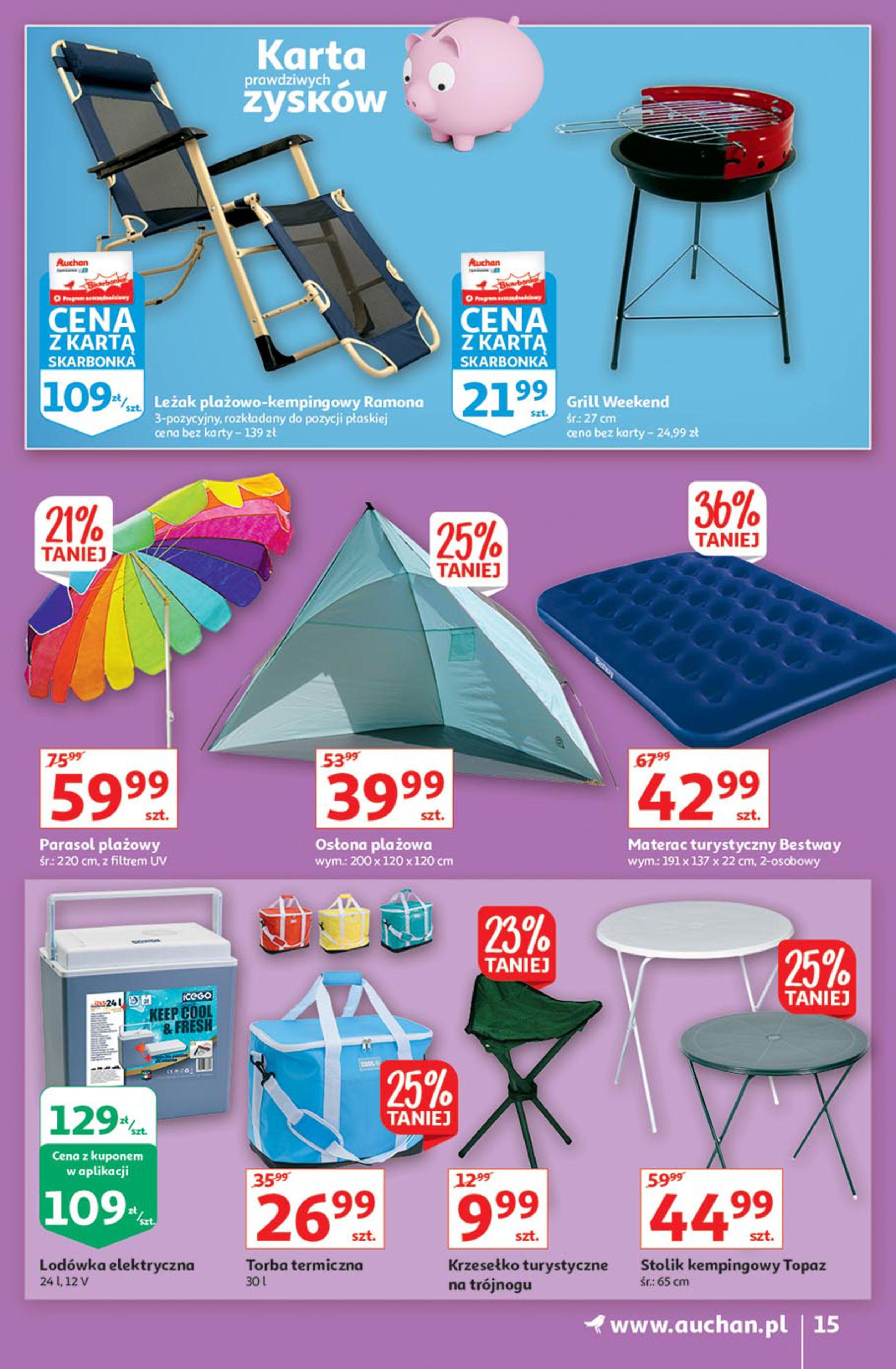 Gazetka Auchan: Gazetka Auchan - Euro 2020 2021-06-10 page-15