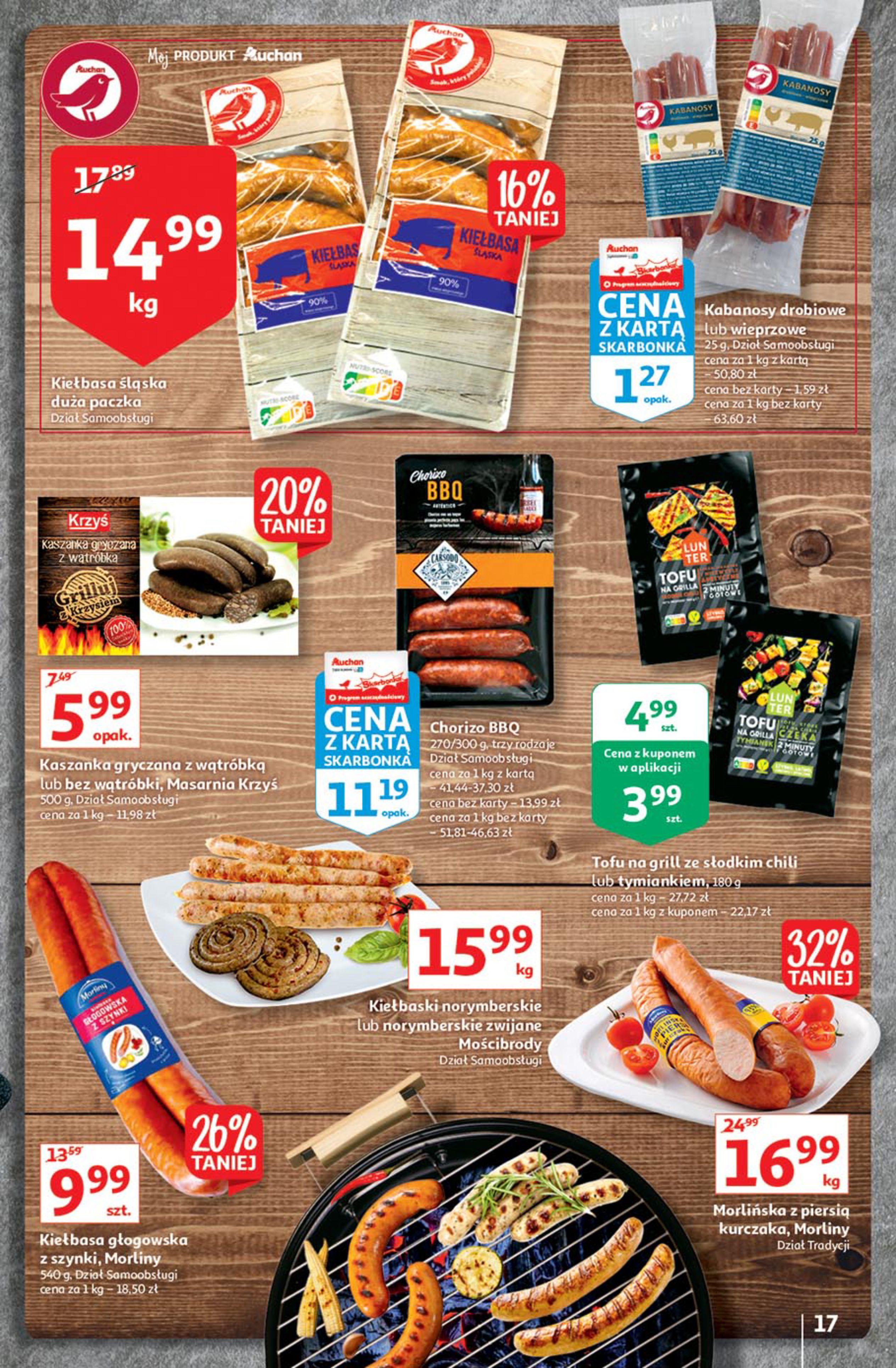 Gazetka Auchan: Gazetka Auchan - Euro 2020 2021-06-10 page-17