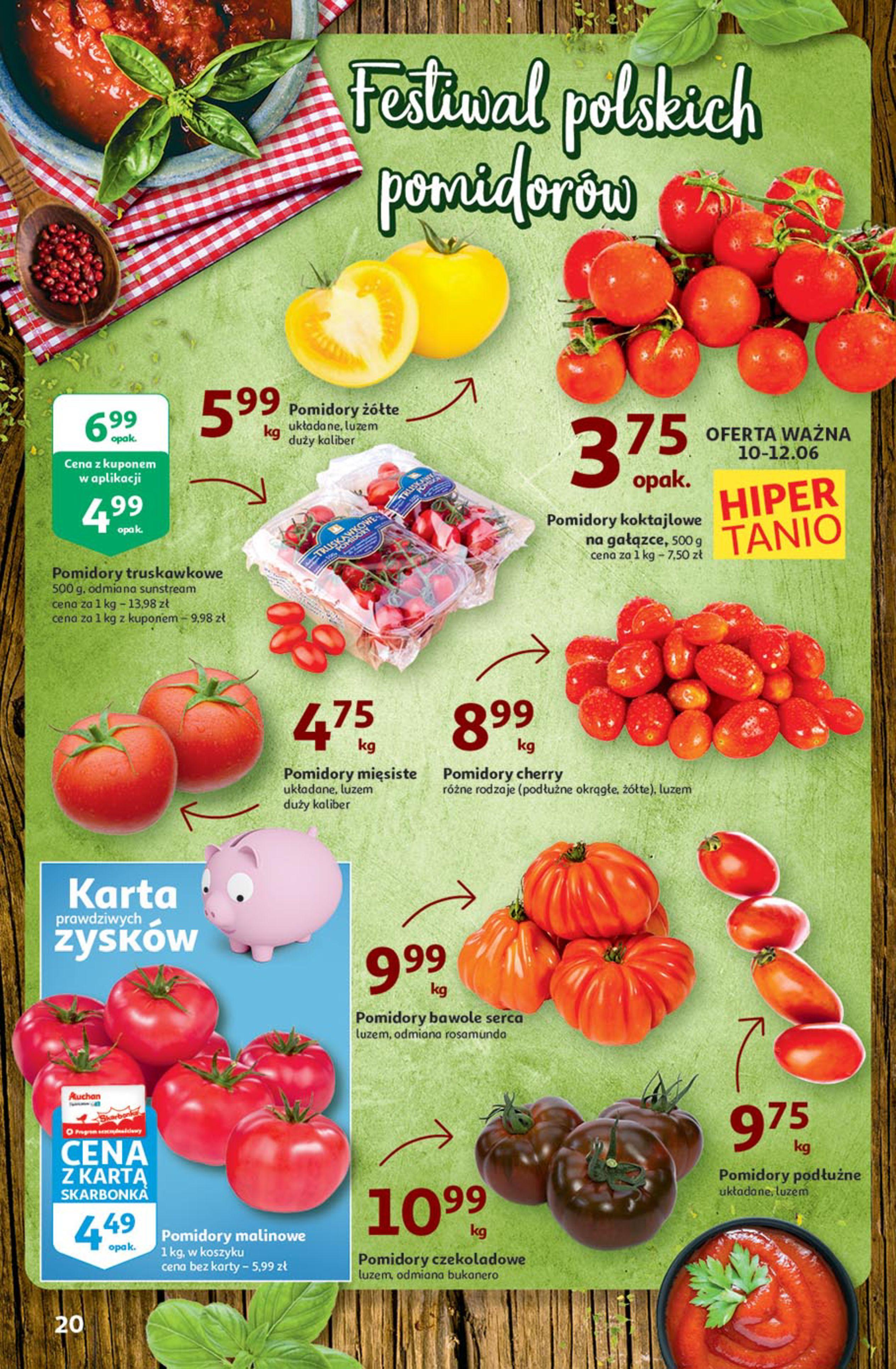 Gazetka Auchan: Gazetka Auchan - Euro 2020 2021-06-10 page-20