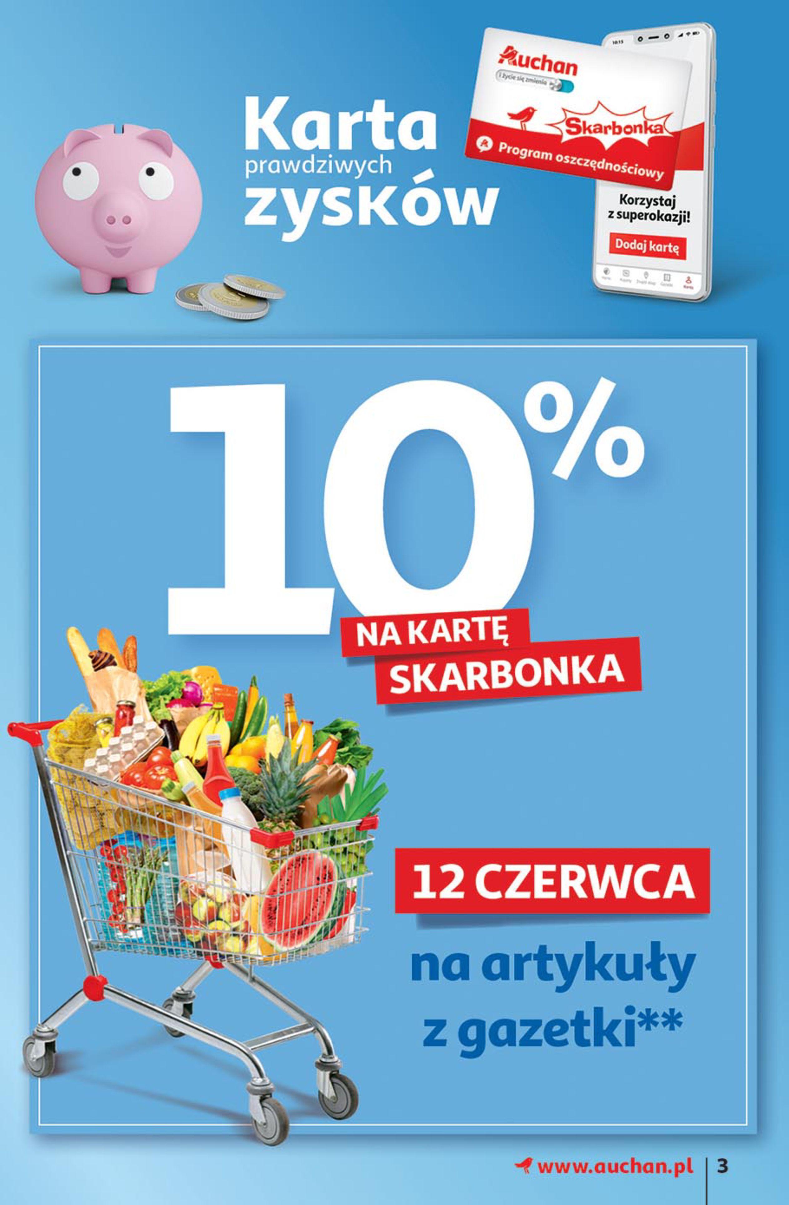 Gazetka Auchan: Gazetka Auchan - Euro 2020 2021-06-10 page-3