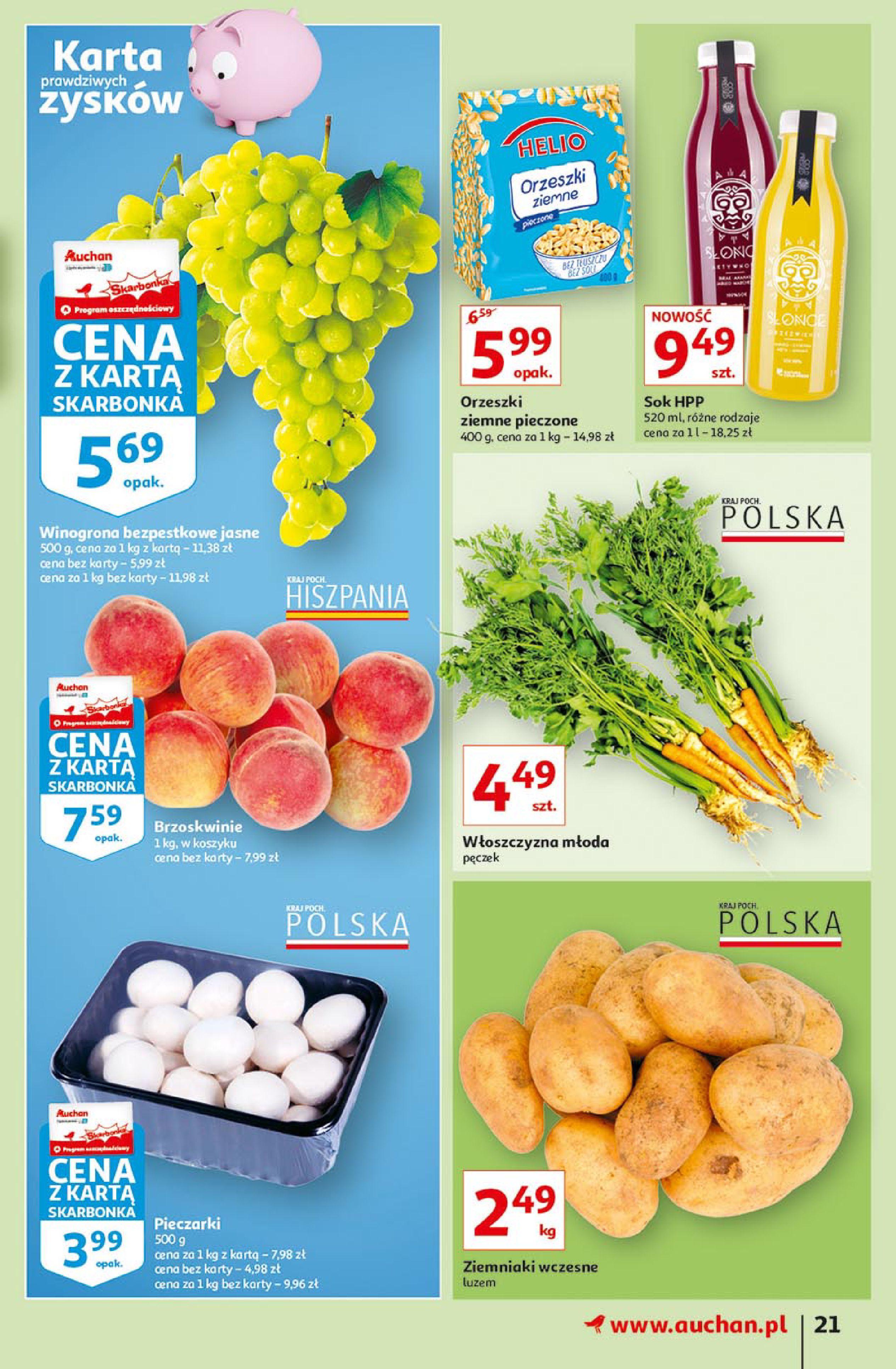 Gazetka Auchan: Gazetka Auchan - Euro 2020 2021-06-10 page-21