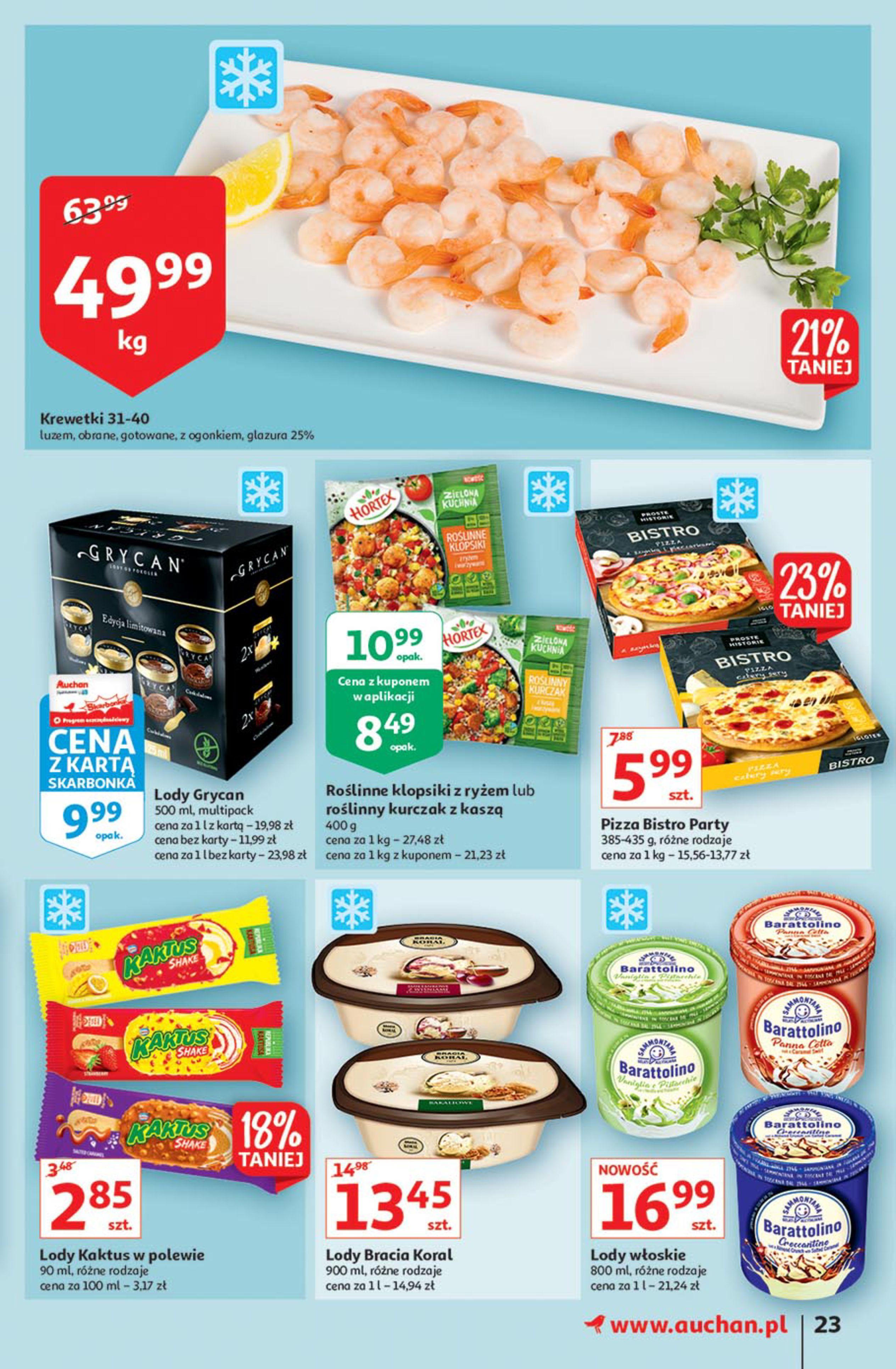 Gazetka Auchan: Gazetka Auchan - Euro 2020 2021-06-10 page-23