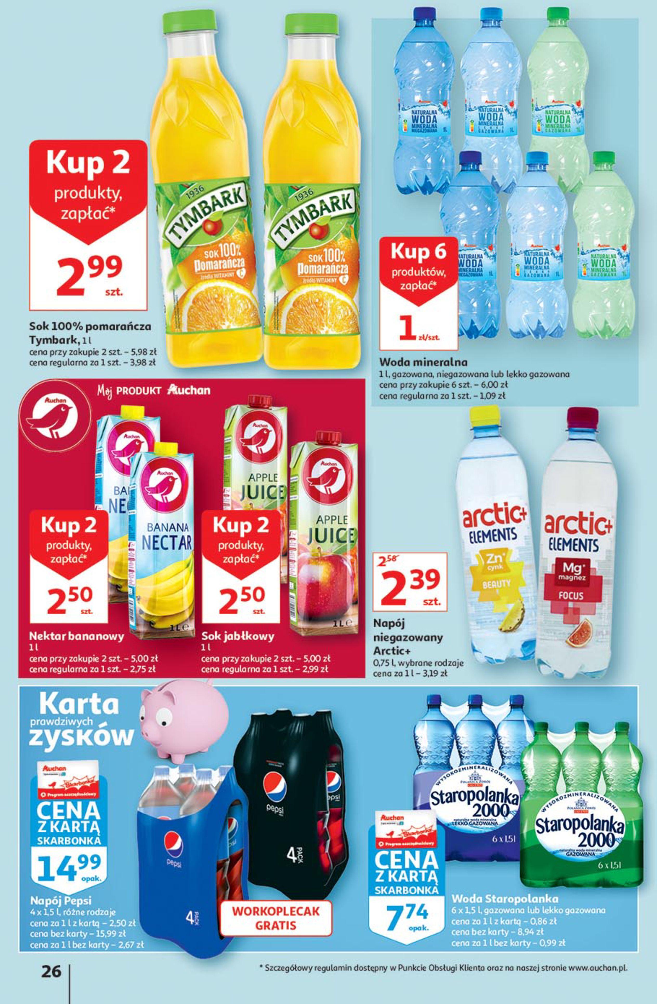 Gazetka Auchan: Gazetka Auchan - Euro 2020 2021-06-10 page-26