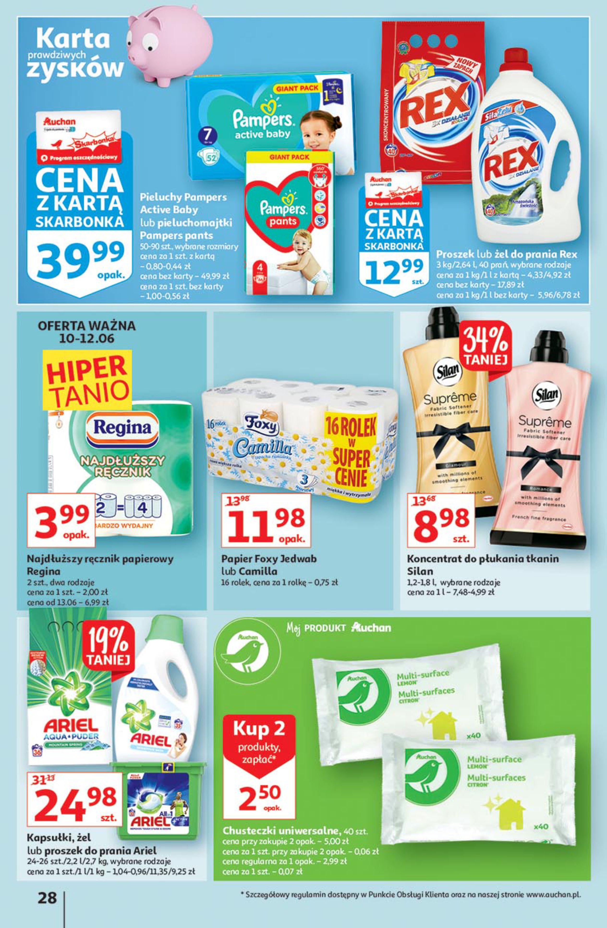 Gazetka Auchan: Gazetka Auchan - Euro 2020 2021-06-10 page-28