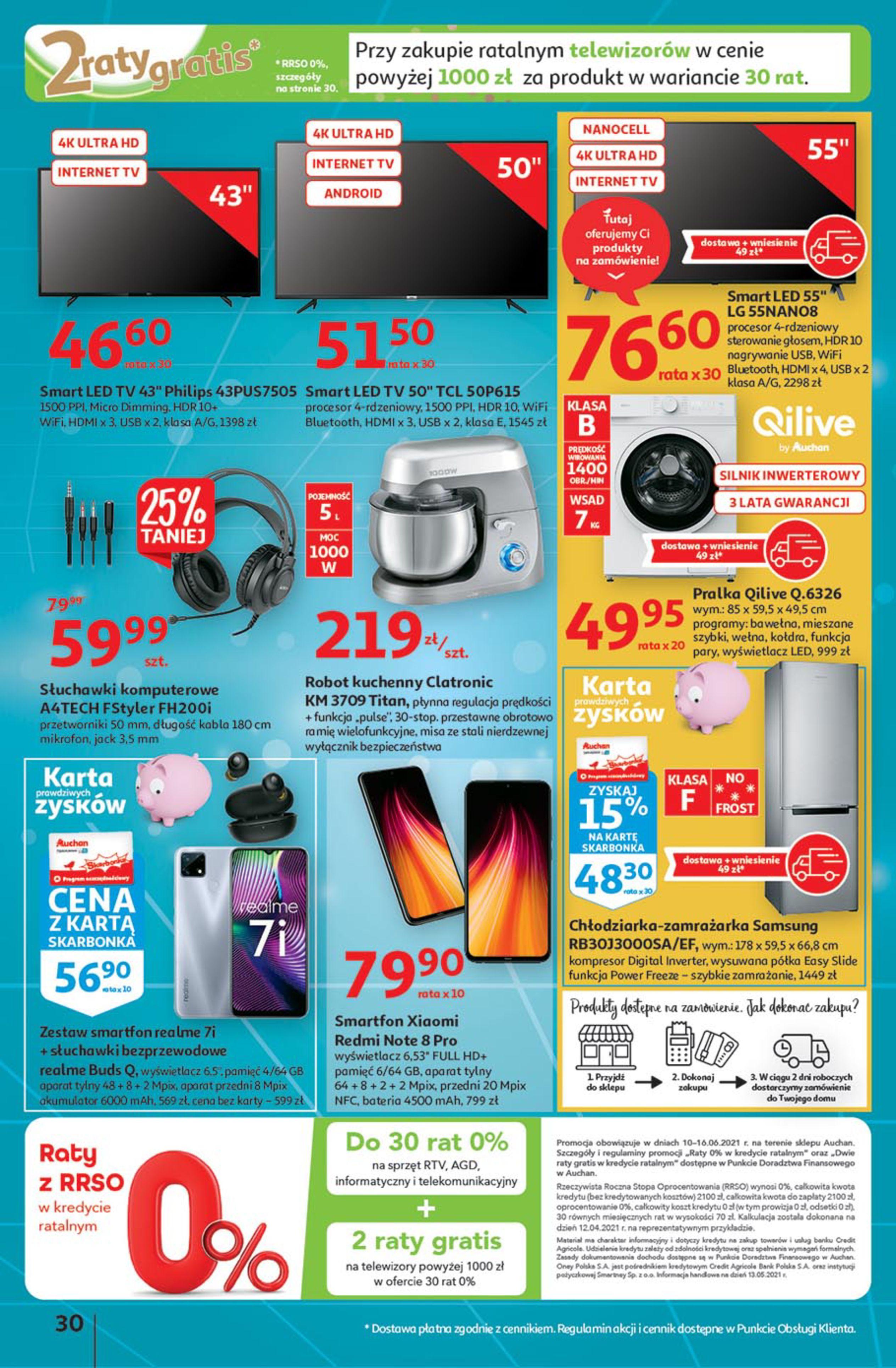 Gazetka Auchan: Gazetka Auchan - Euro 2020 2021-06-10 page-30