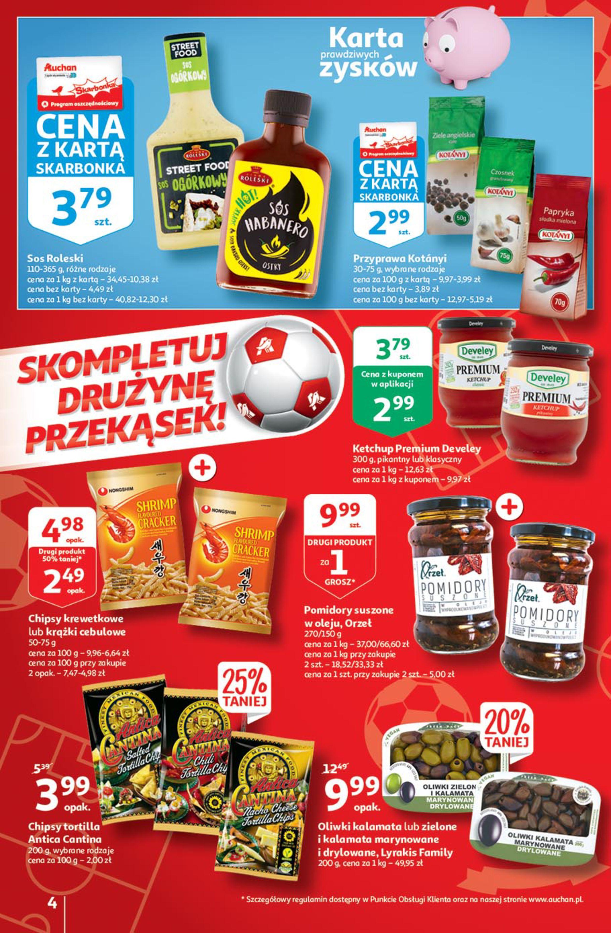 Gazetka Auchan: Gazetka Auchan - Euro 2020 2021-06-10 page-4