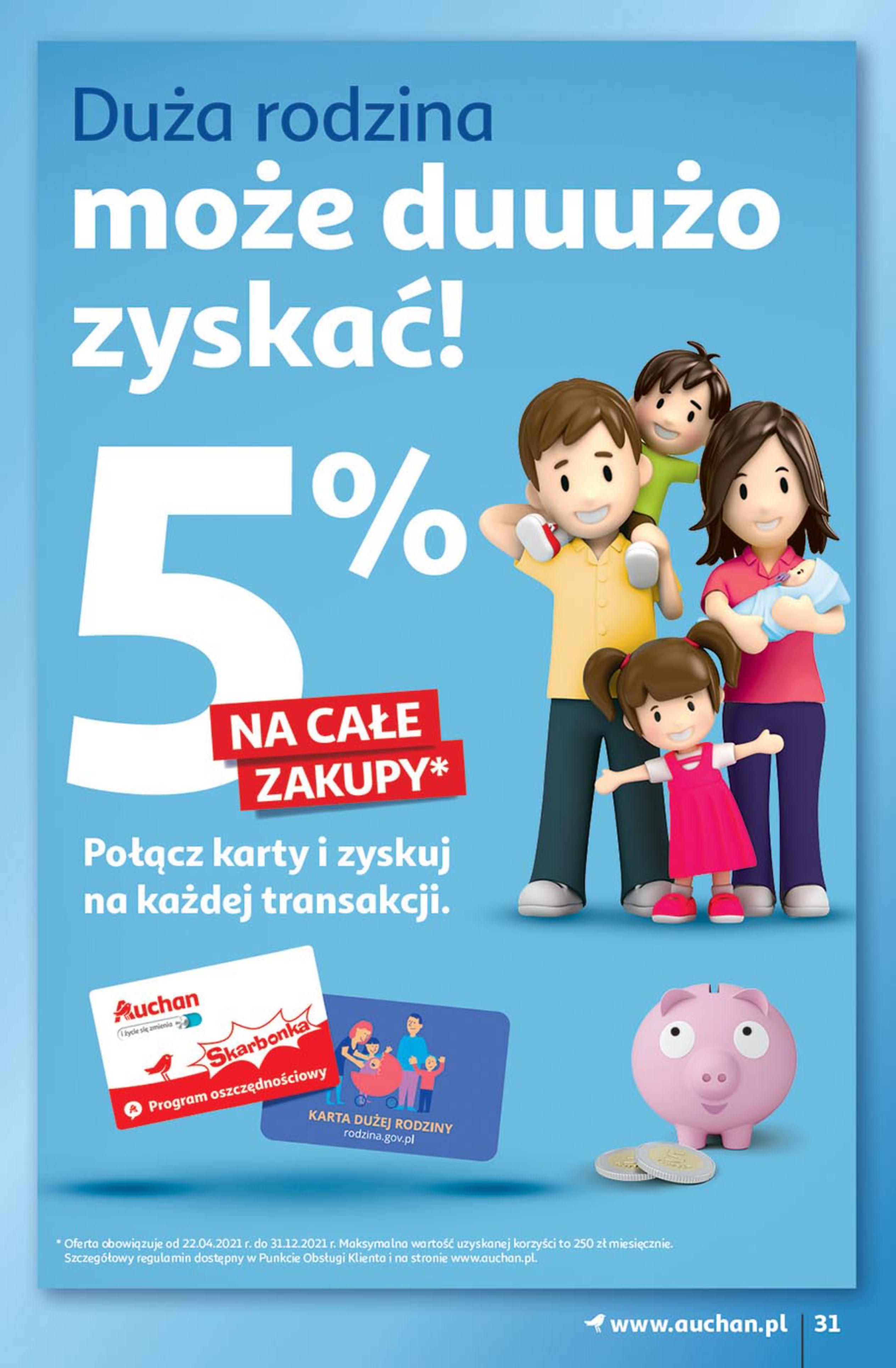 Gazetka Auchan: Gazetka Auchan - Euro 2020 2021-06-10 page-31