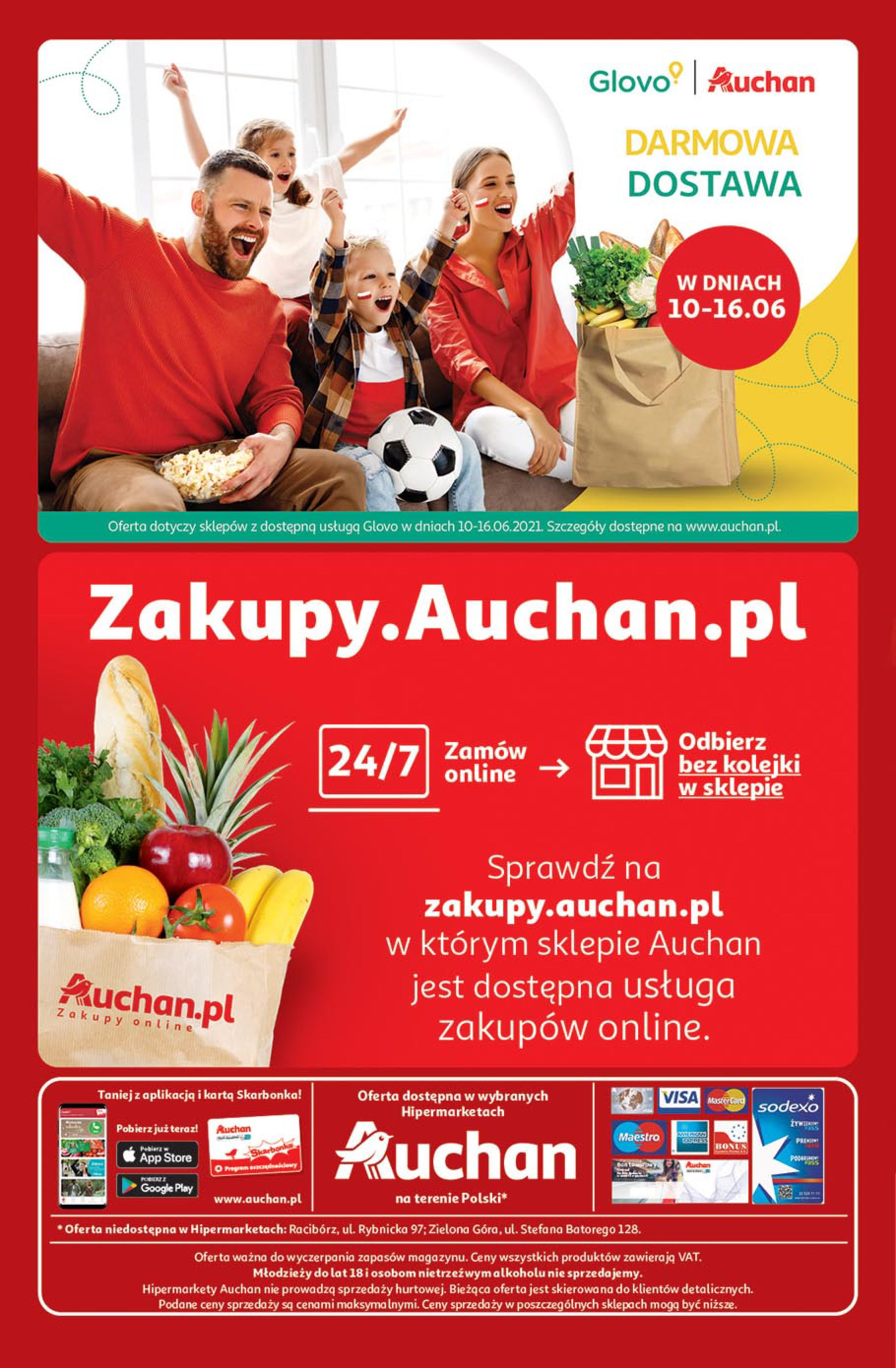 Gazetka Auchan: Gazetka Auchan - Euro 2020 2021-06-10 page-32