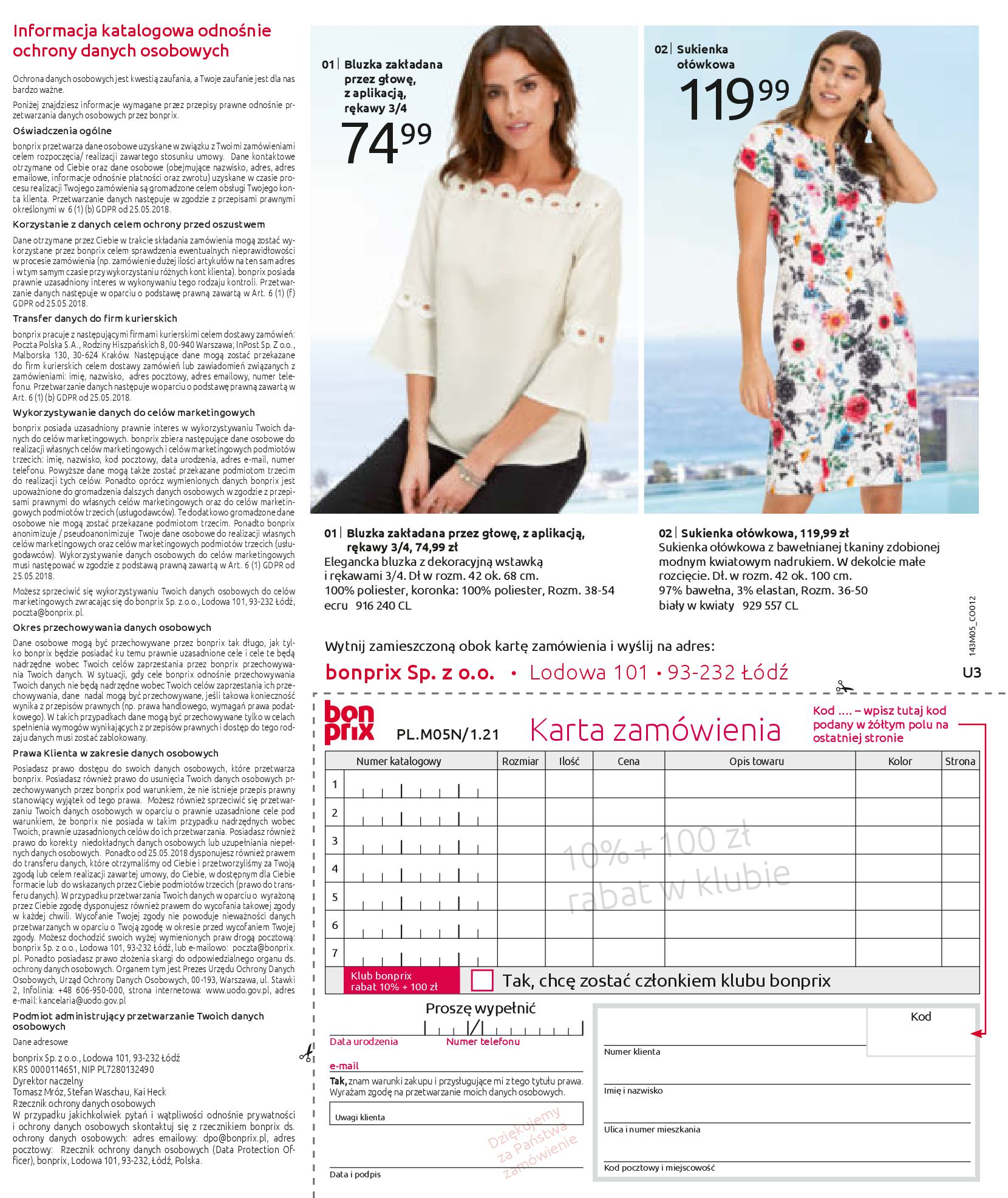 Gazetka Bonprix: Katalog Bonprix Letnie klimaty 2021-05-26 page-99