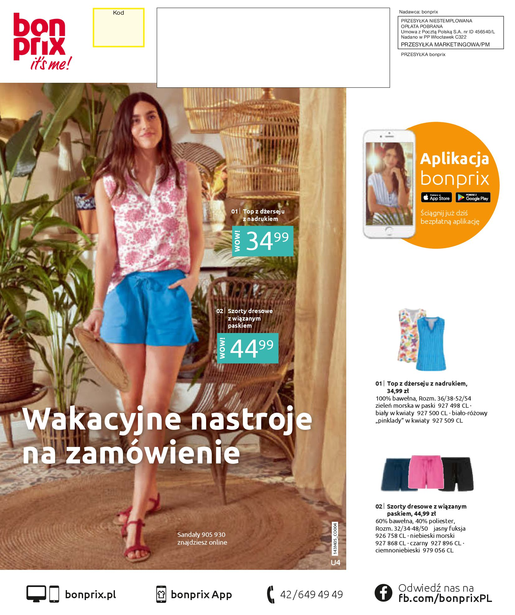 Gazetka Bonprix: Katalog Bonprix Letnie klimaty 2021-05-26 page-100
