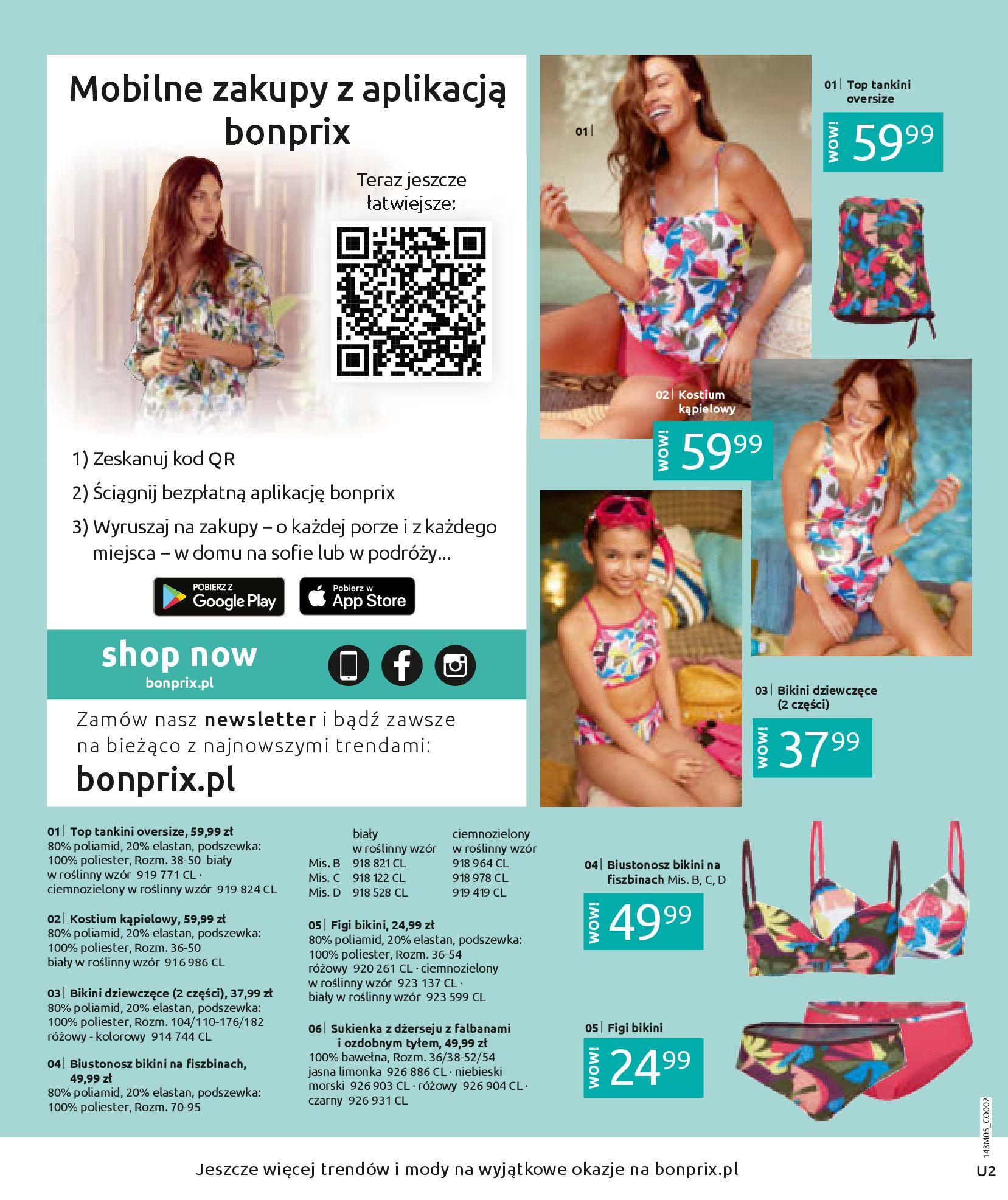 Gazetka Bonprix: Katalog Bonprix Letnie klimaty 2021-05-26 page-2