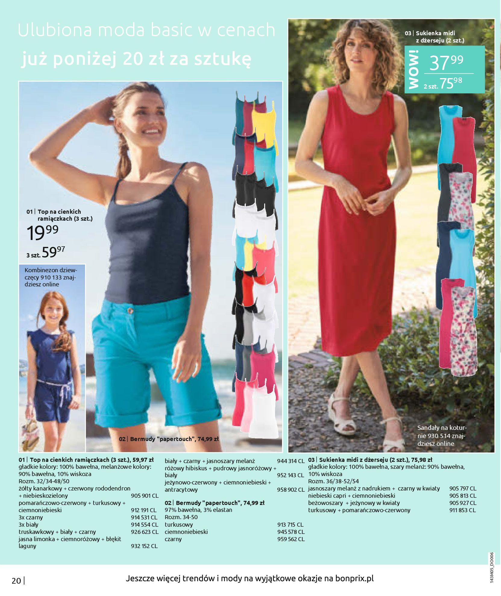 Gazetka Bonprix: Katalog Bonprix Letnie klimaty 2021-05-26 page-22