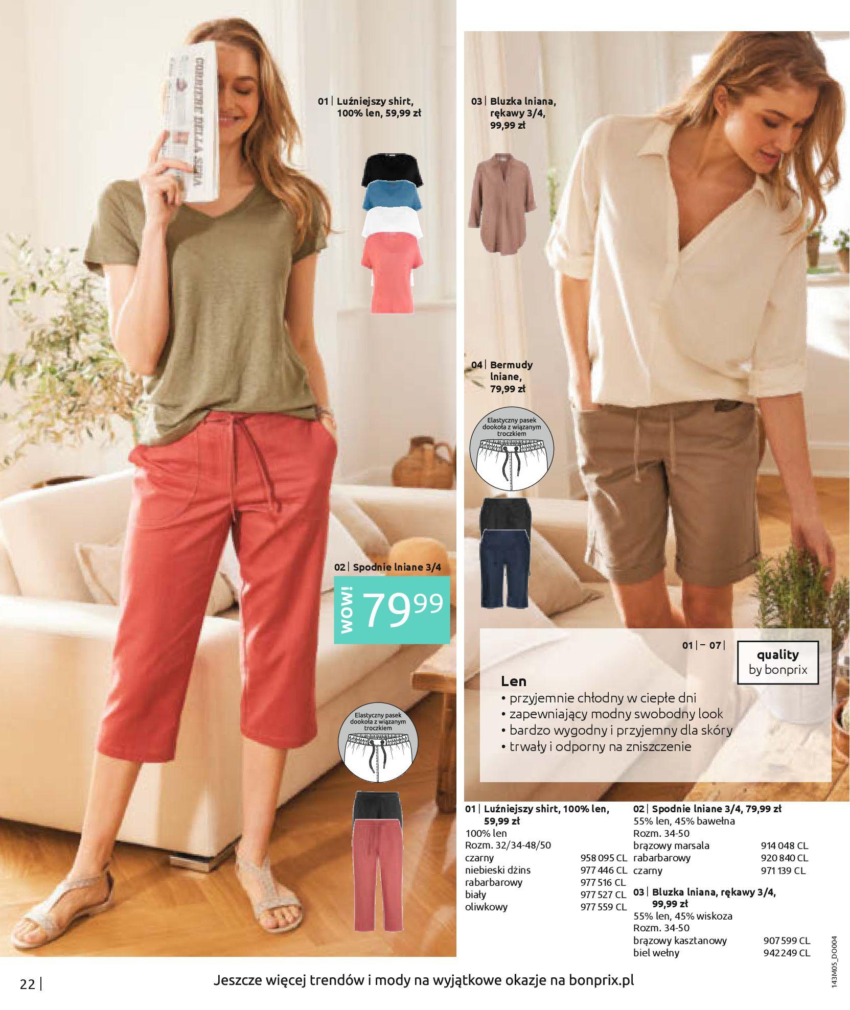 Gazetka Bonprix: Katalog Bonprix Letnie klimaty 2021-05-26 page-24