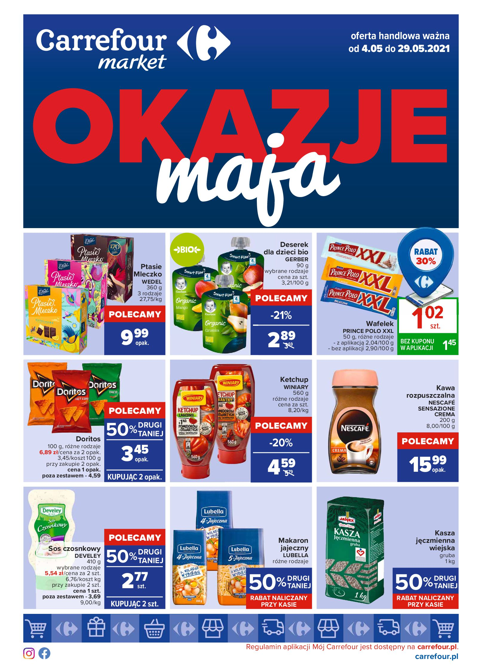 Gazetka Carrefour Market: Okazje maja 2021-05-04 page-1