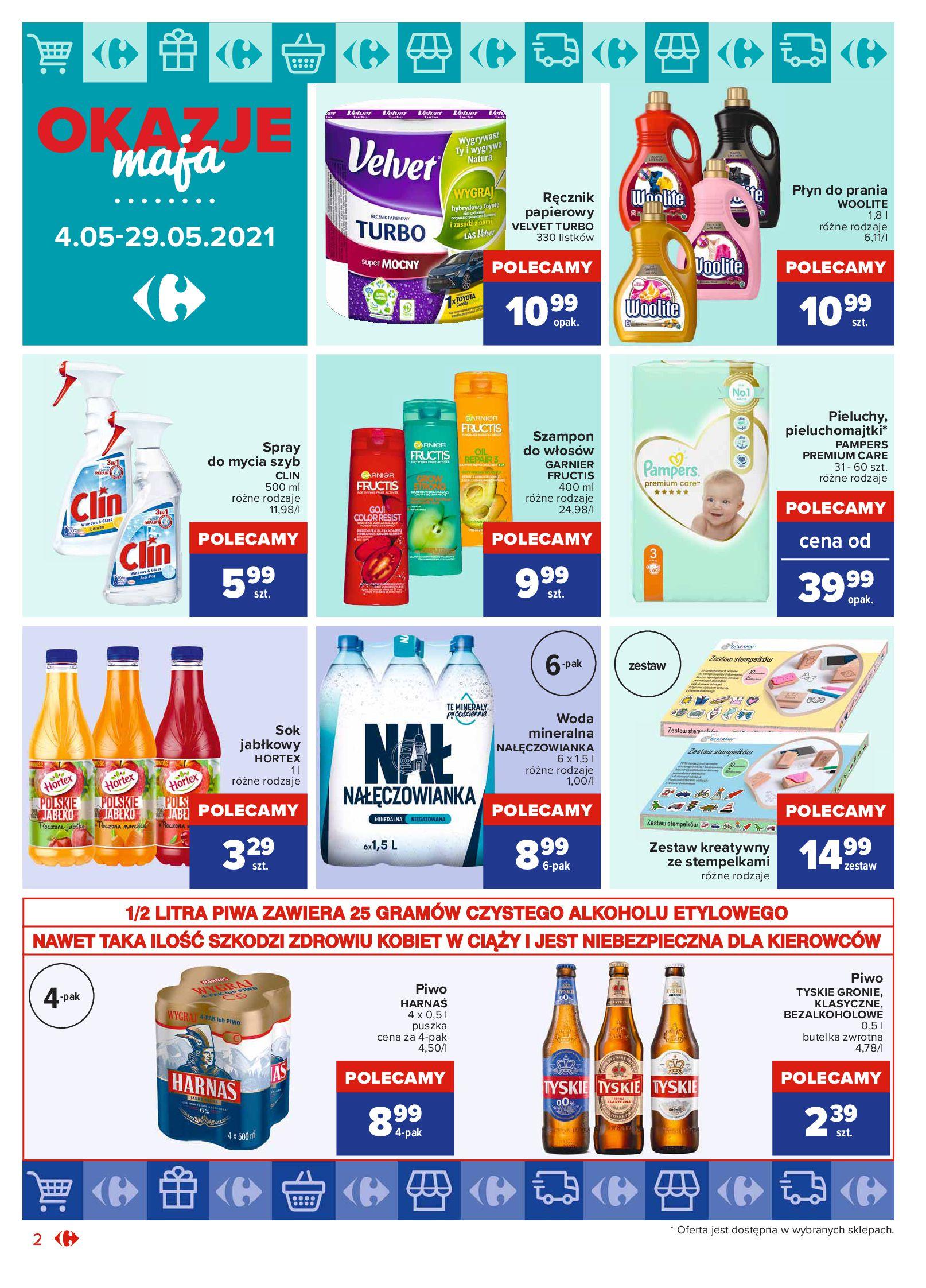 Gazetka Carrefour Market: Okazje maja 2021-05-04 page-2