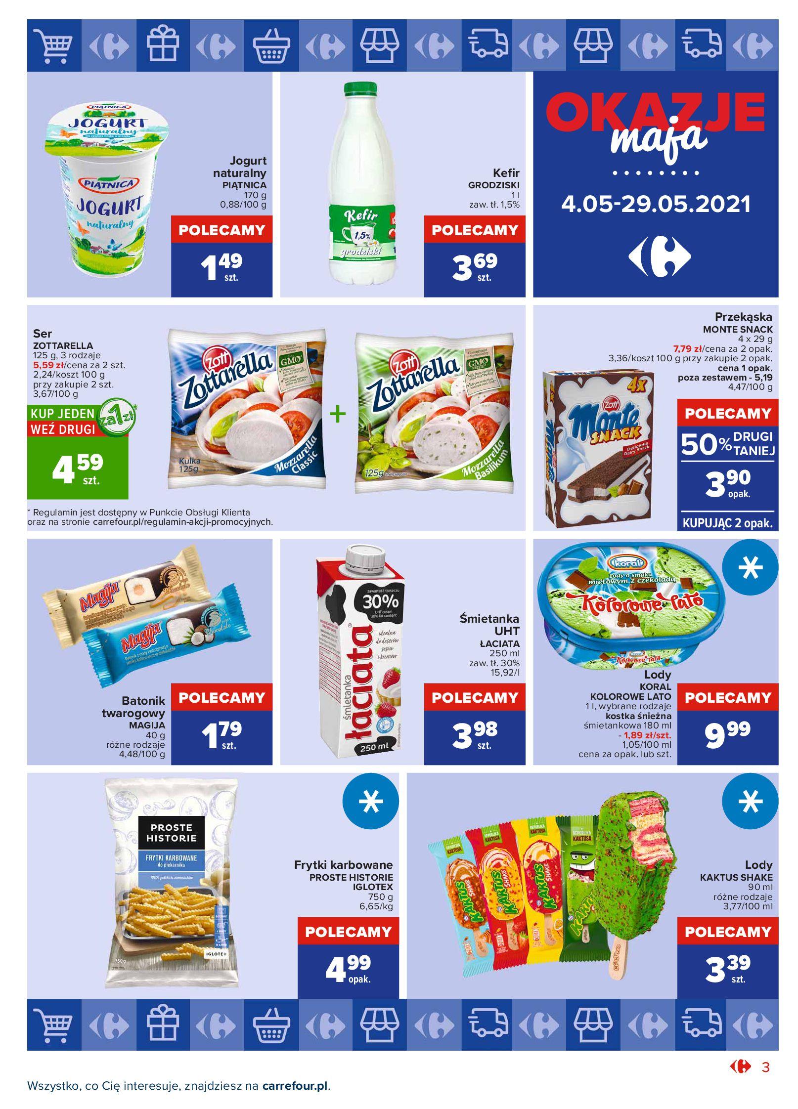 Gazetka Carrefour Market: Okazje maja 2021-05-04 page-3
