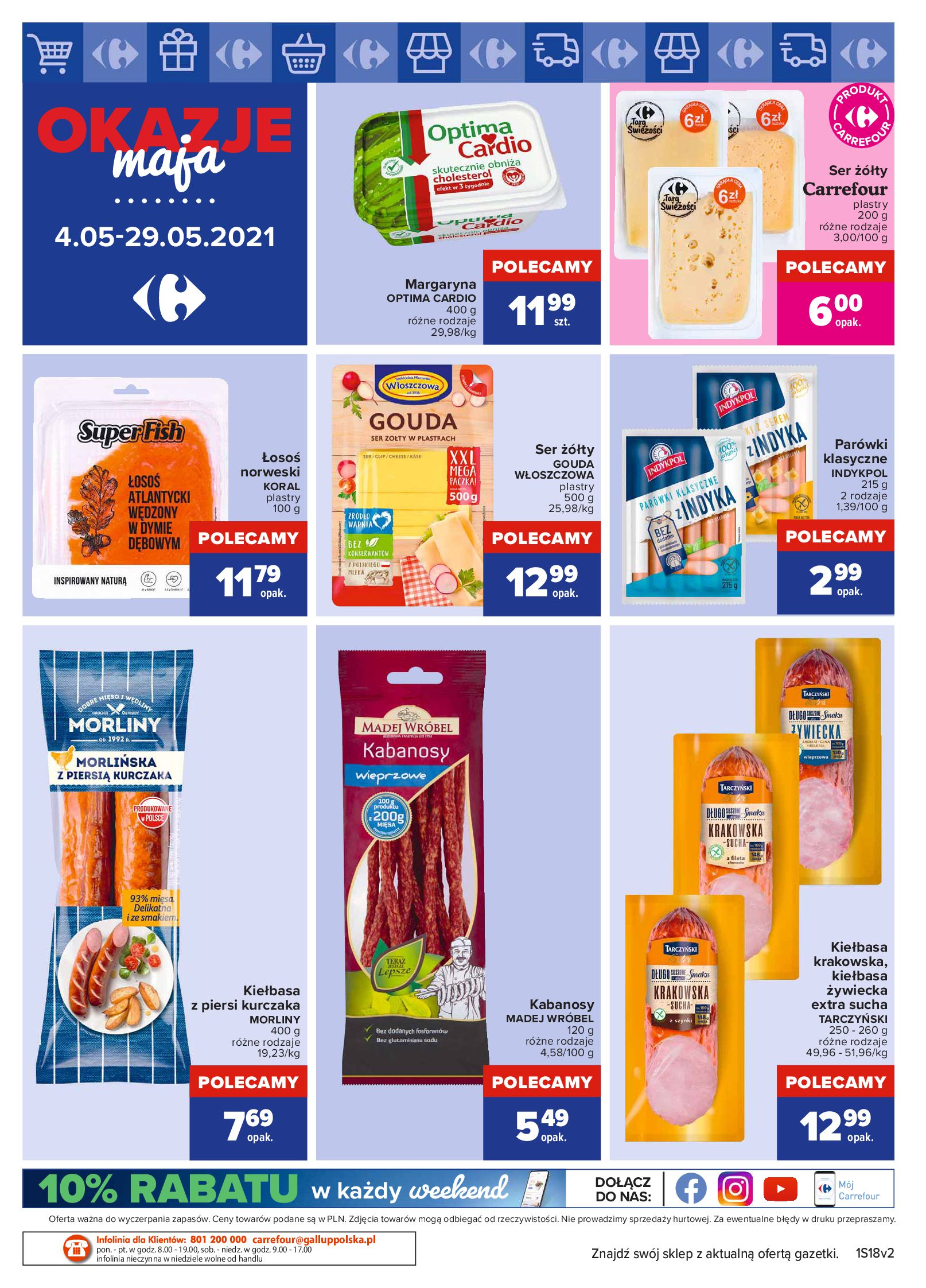 Gazetka Carrefour Market: Okazje maja 2021-05-04 page-4