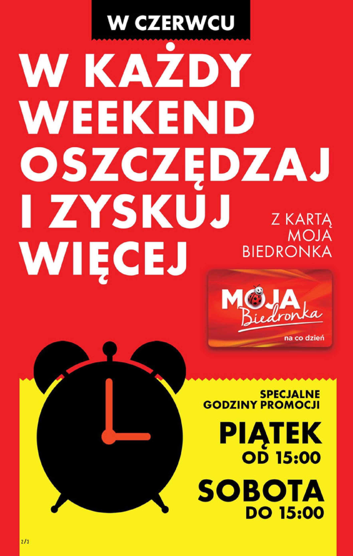 Gazetka Biedronka: Gazetka Biedronka - 10-16.06 2021-06-09 page-2