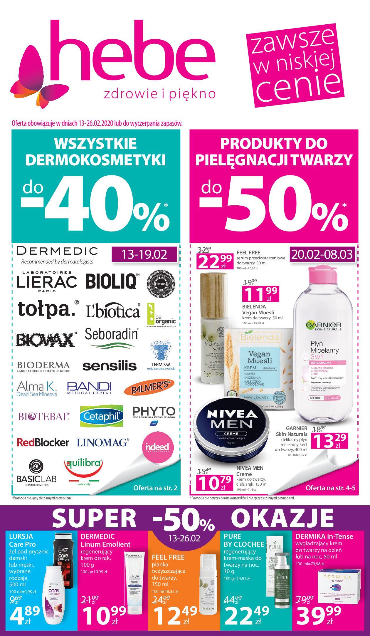 Gazetka hebe - Gazetka promocyjna-12.02.2020-26.02.2020-page-1