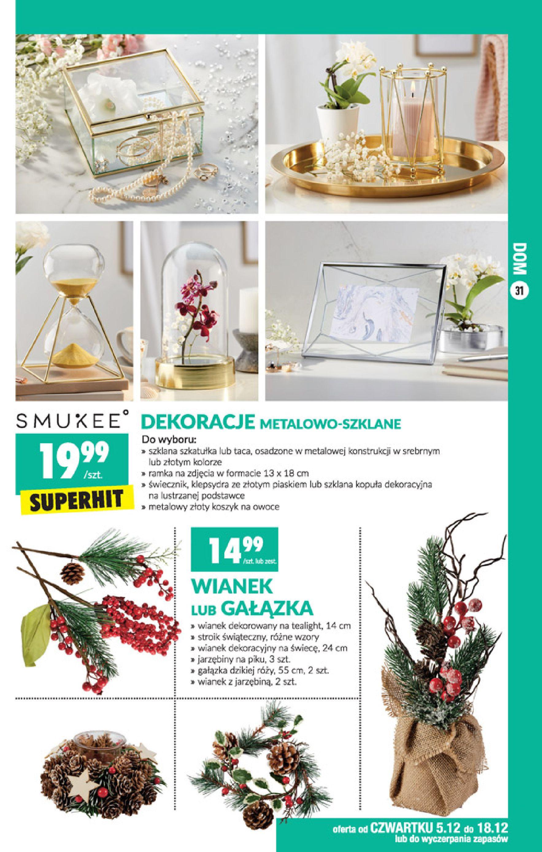 Gazetka Biedronka - Okazje tygodnia-01.12.2019-05.12.2019-page-31