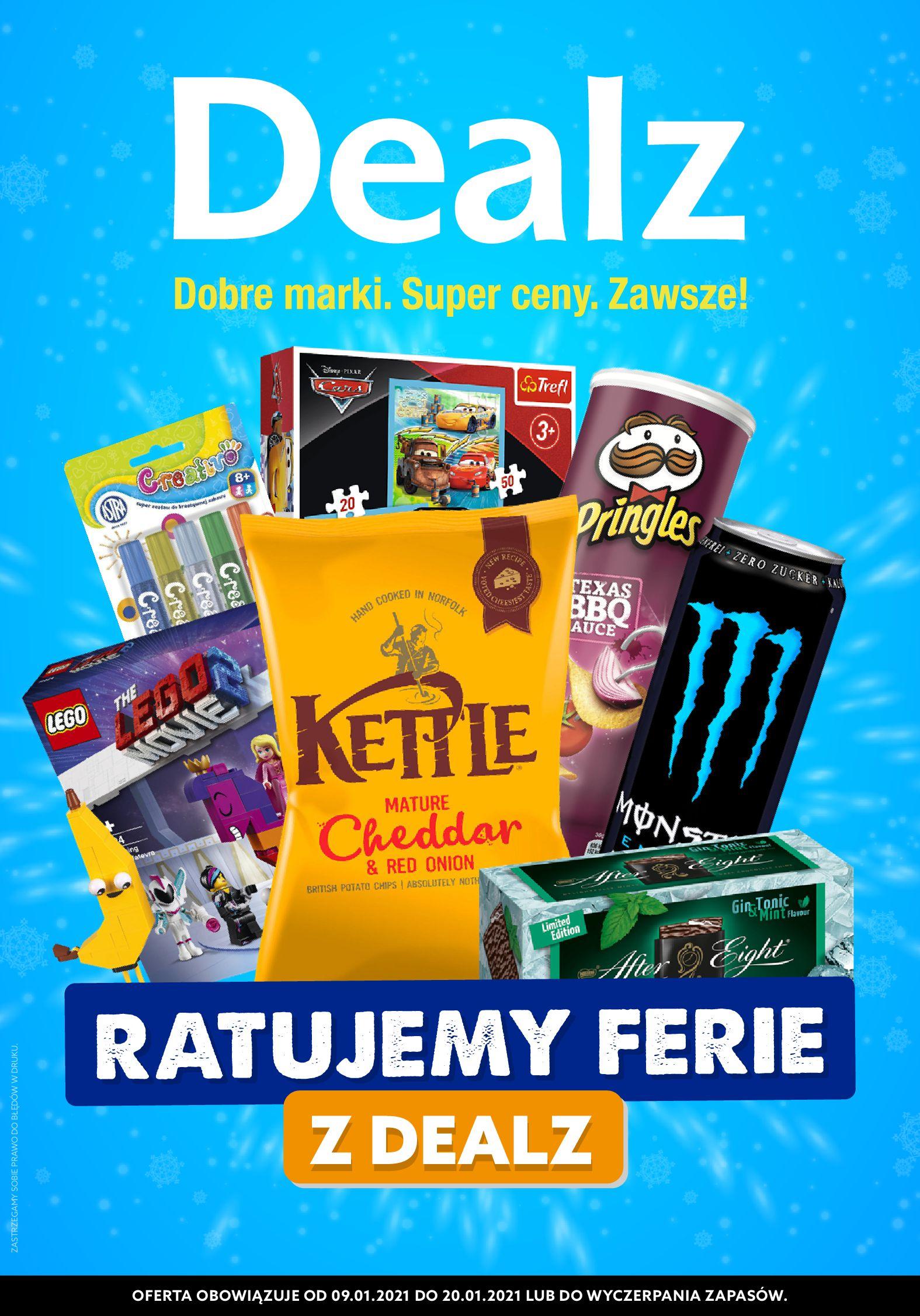 Gazetka Dealz : Oferta handlowa 2021-01-09 page-1