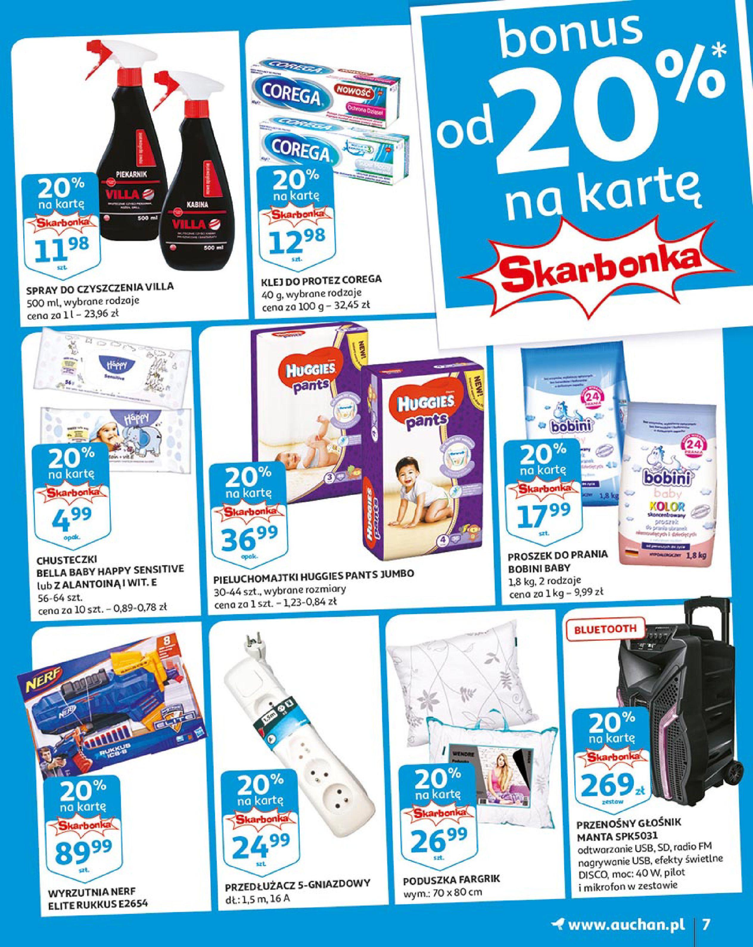 Gazetka Auchan - Młodzi rządzą-15.08.2019-21.08.2019-page-7