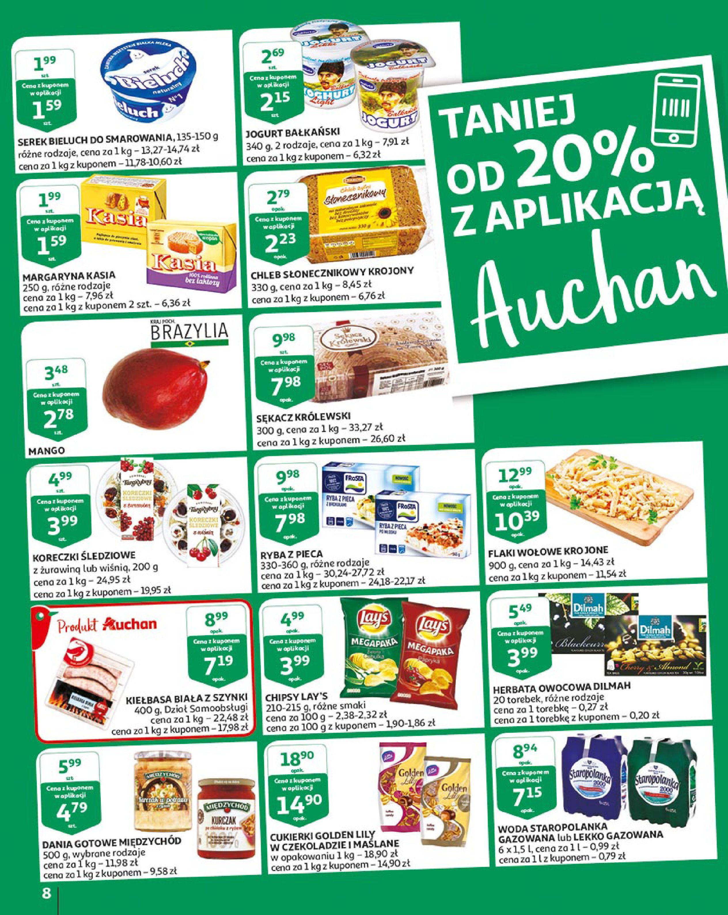Gazetka Auchan - Młodzi rządzą-15.08.2019-21.08.2019-page-8