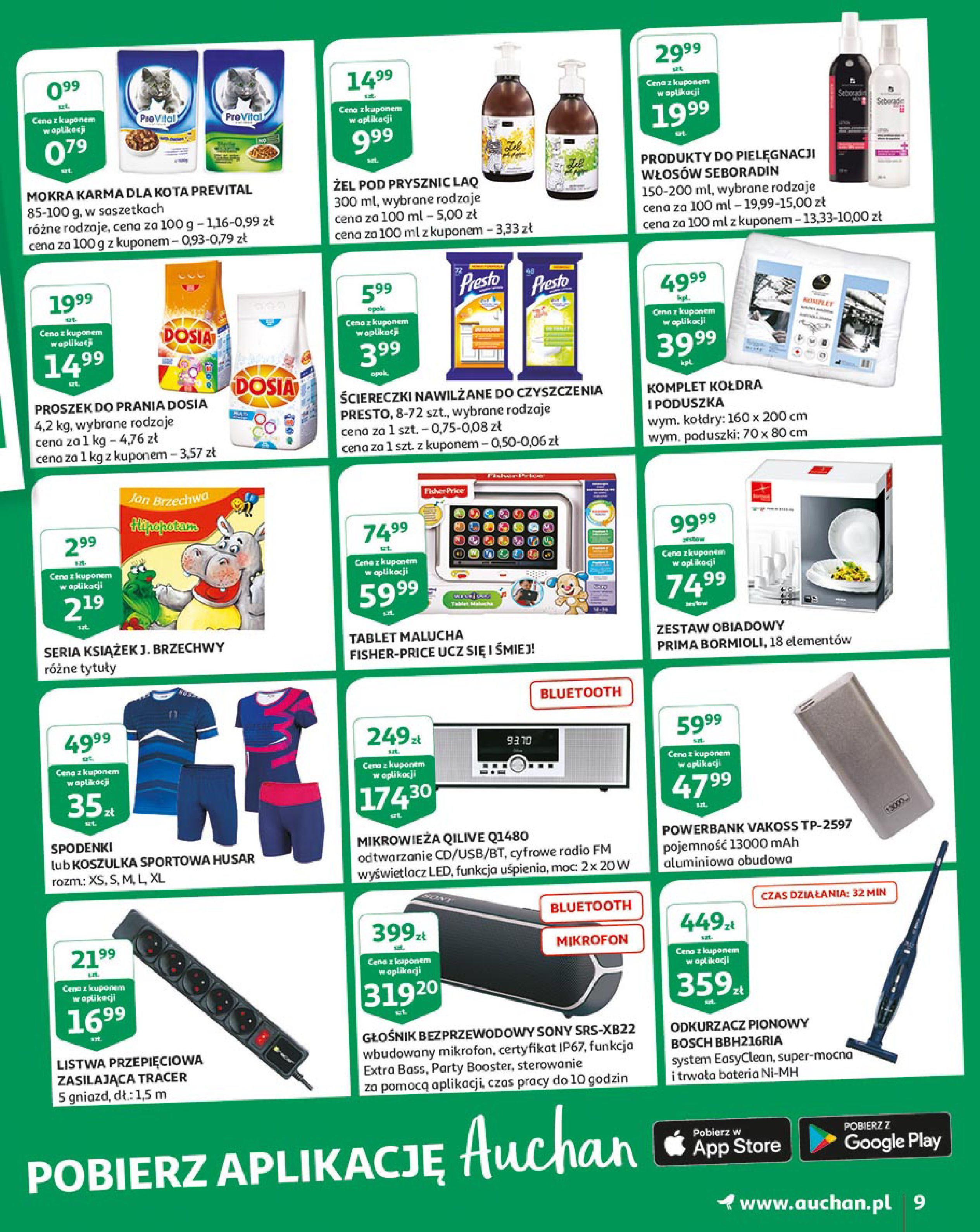 Gazetka Auchan - Młodzi rządzą-15.08.2019-21.08.2019-page-9