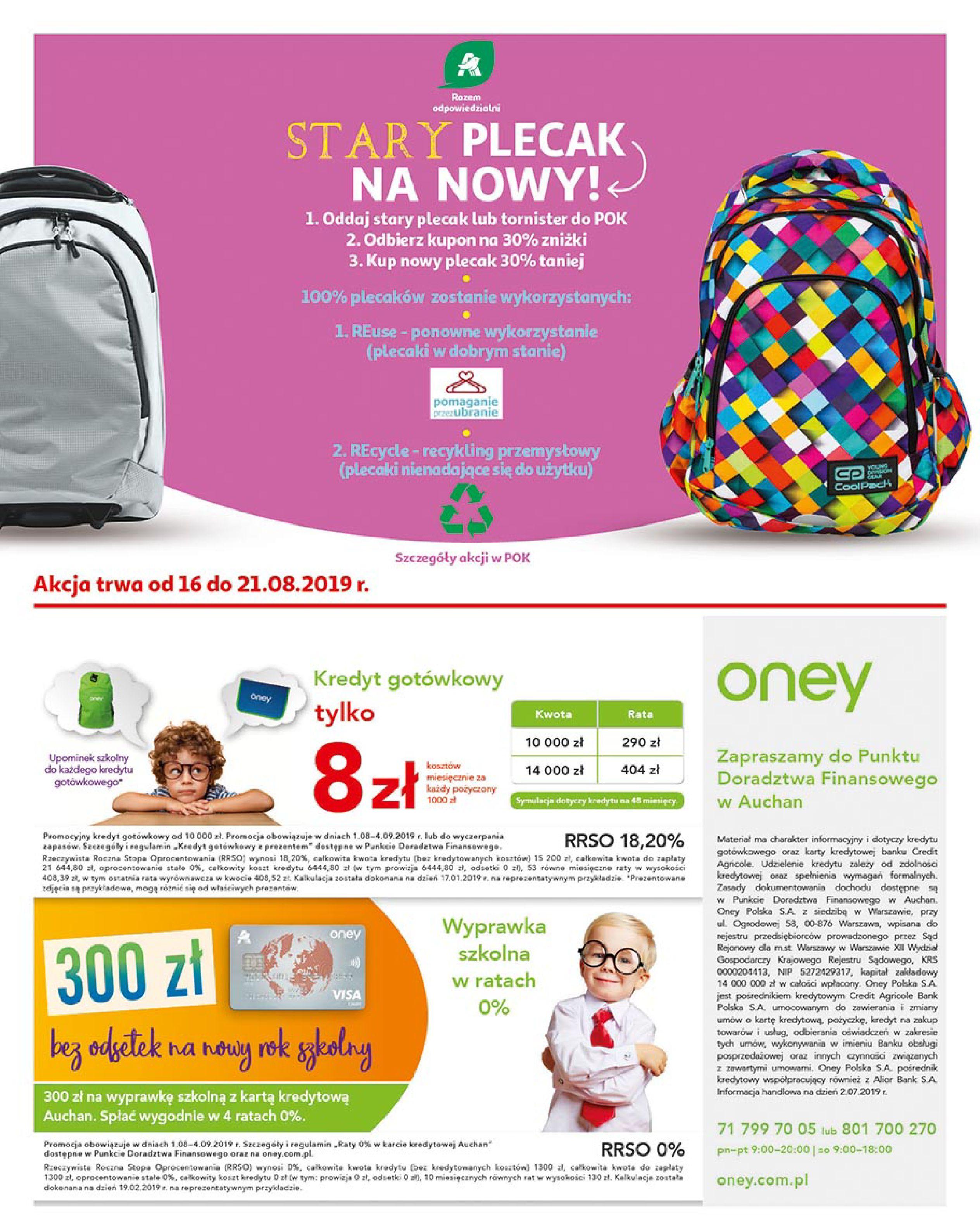 Gazetka Auchan - Młodzi rządzą-15.08.2019-21.08.2019-page-2
