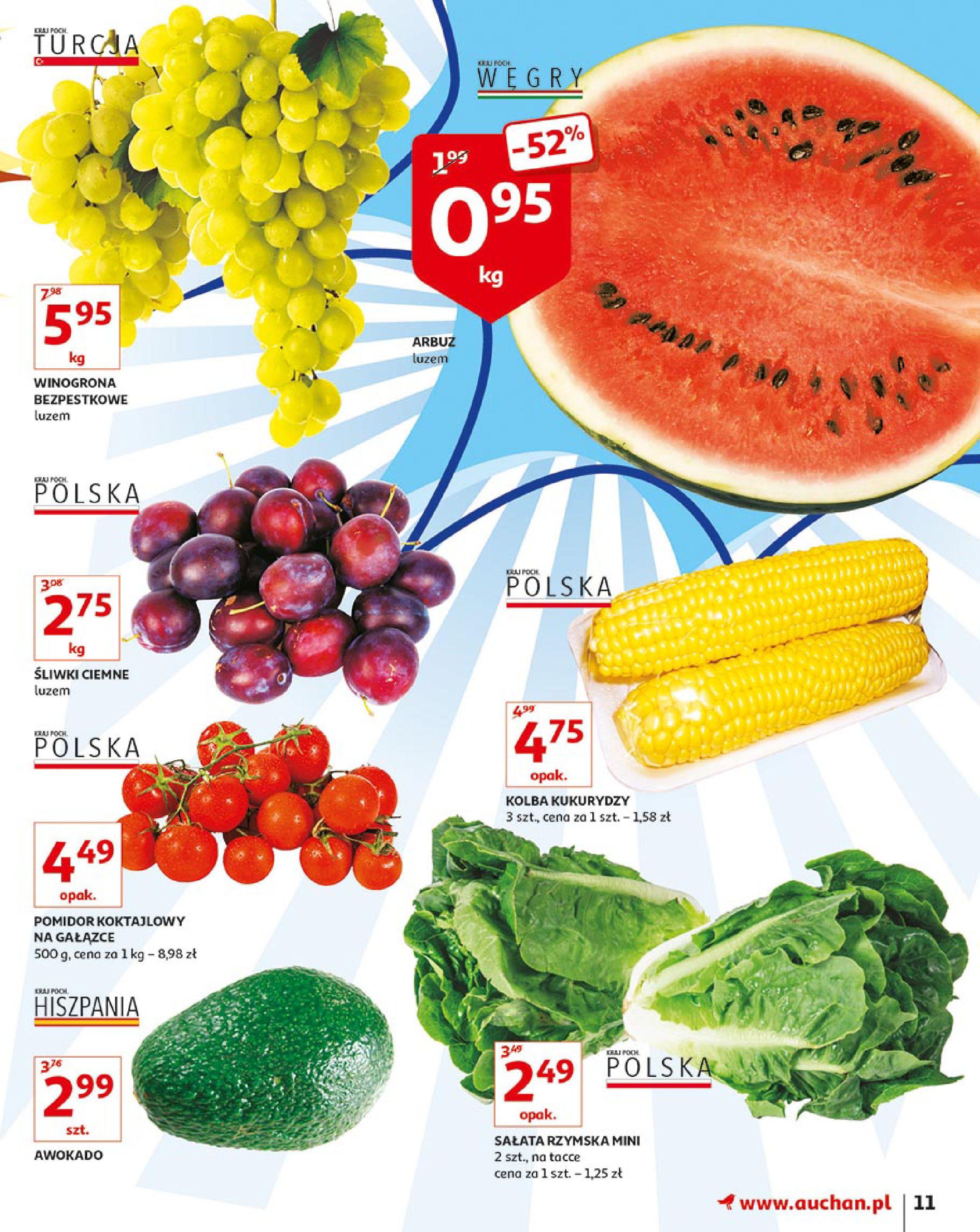 Gazetka Auchan - Młodzi rządzą-15.08.2019-21.08.2019-page-11