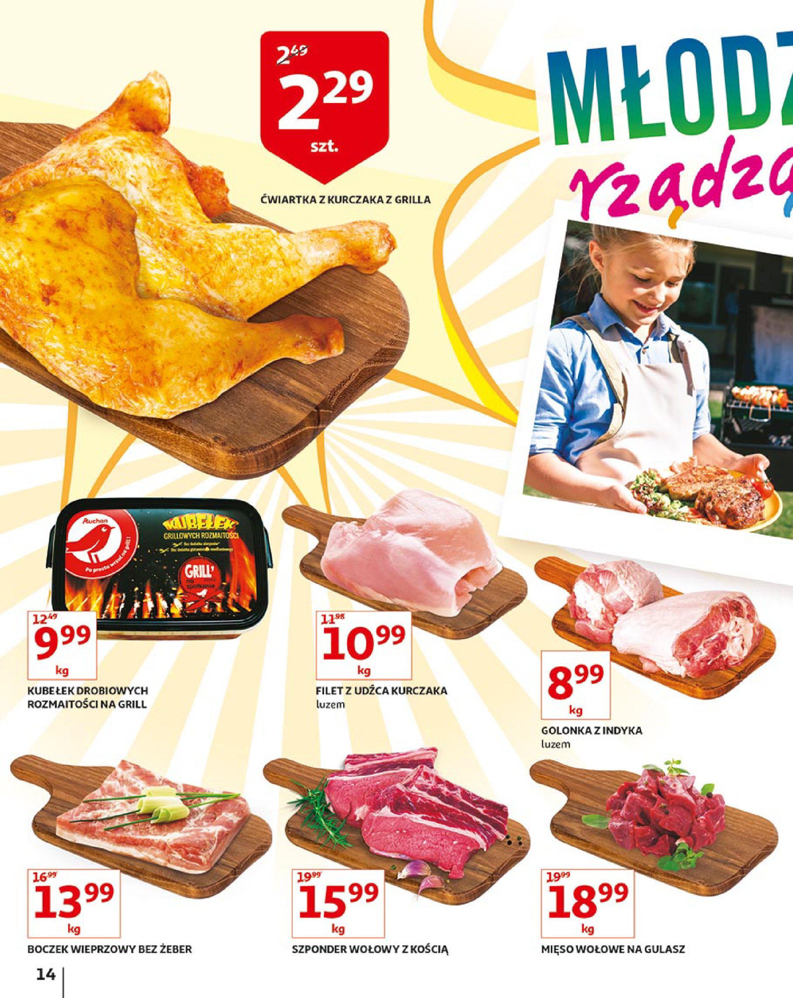 Gazetka Auchan - Młodzi rządzą-15.08.2019-21.08.2019-page-14
