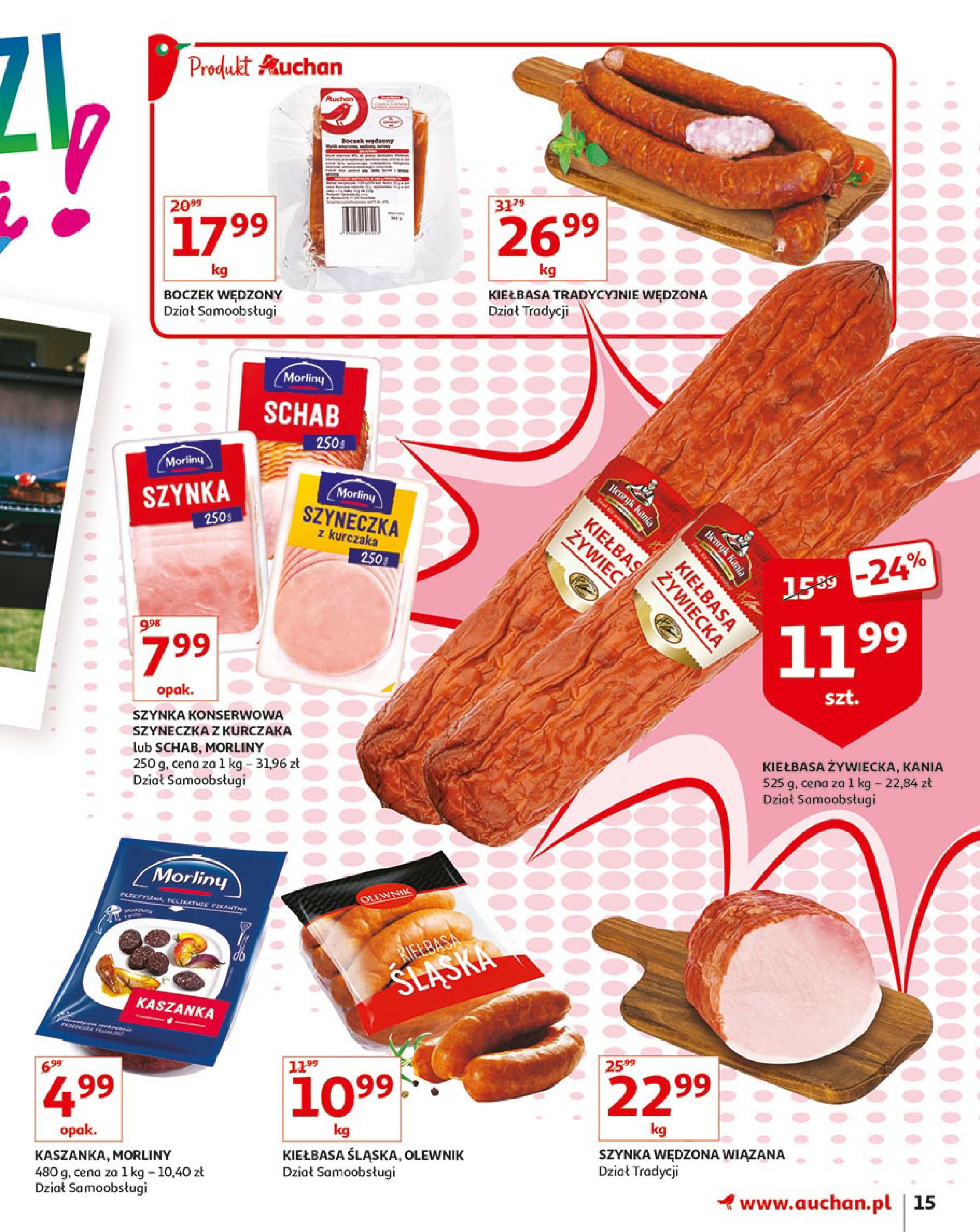 Gazetka Auchan - Młodzi rządzą-15.08.2019-21.08.2019-page-15