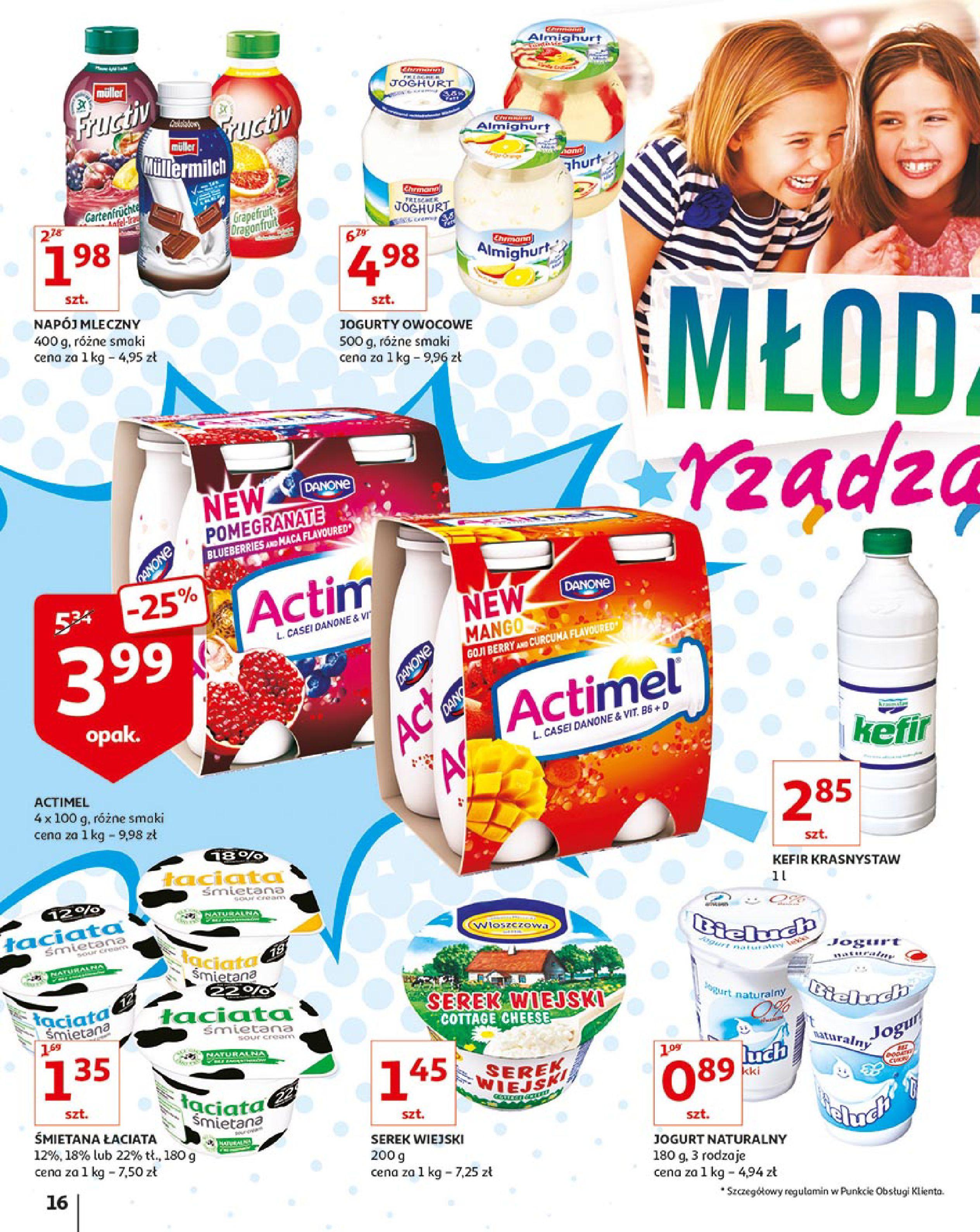 Gazetka Auchan - Młodzi rządzą-15.08.2019-21.08.2019-page-16