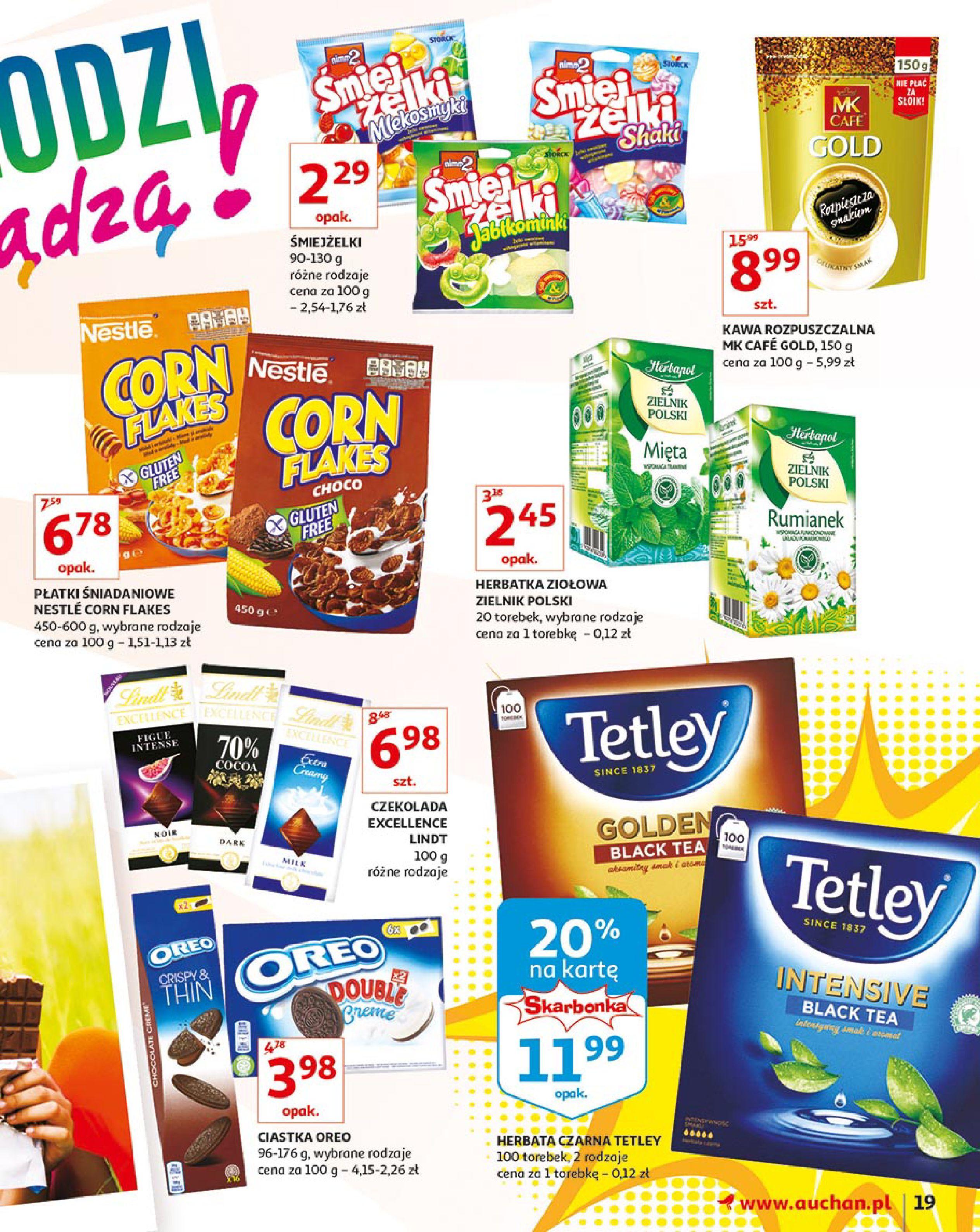 Gazetka Auchan - Młodzi rządzą-15.08.2019-21.08.2019-page-19