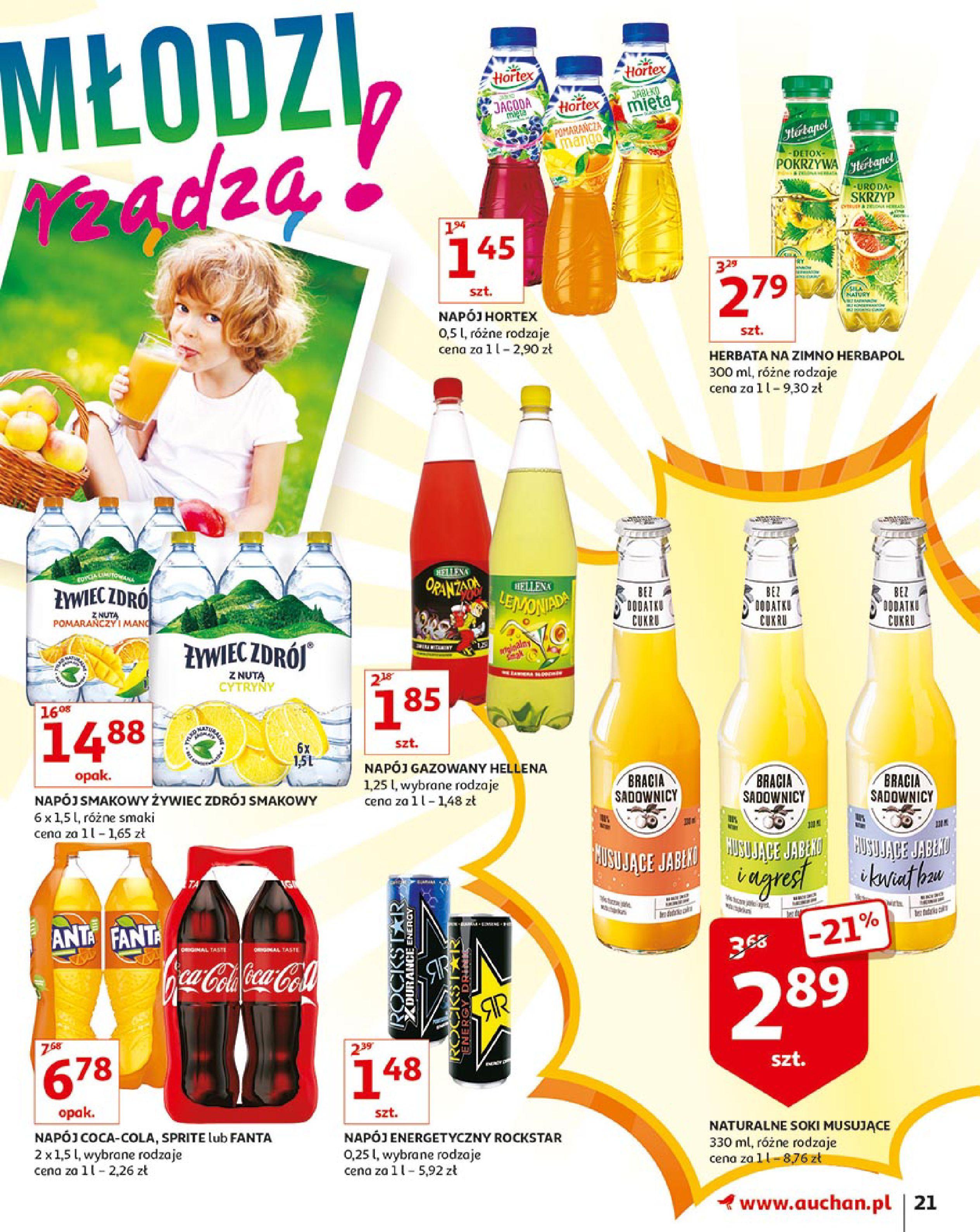 Gazetka Auchan - Młodzi rządzą-15.08.2019-21.08.2019-page-21