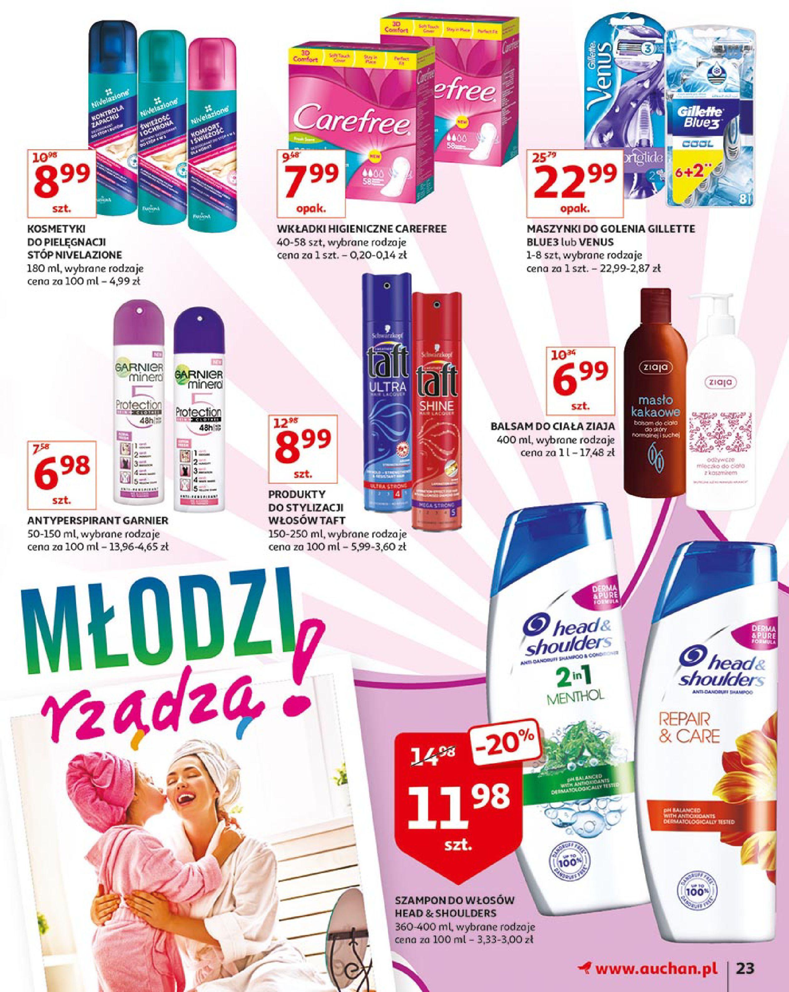 Gazetka Auchan - Młodzi rządzą-15.08.2019-21.08.2019-page-23