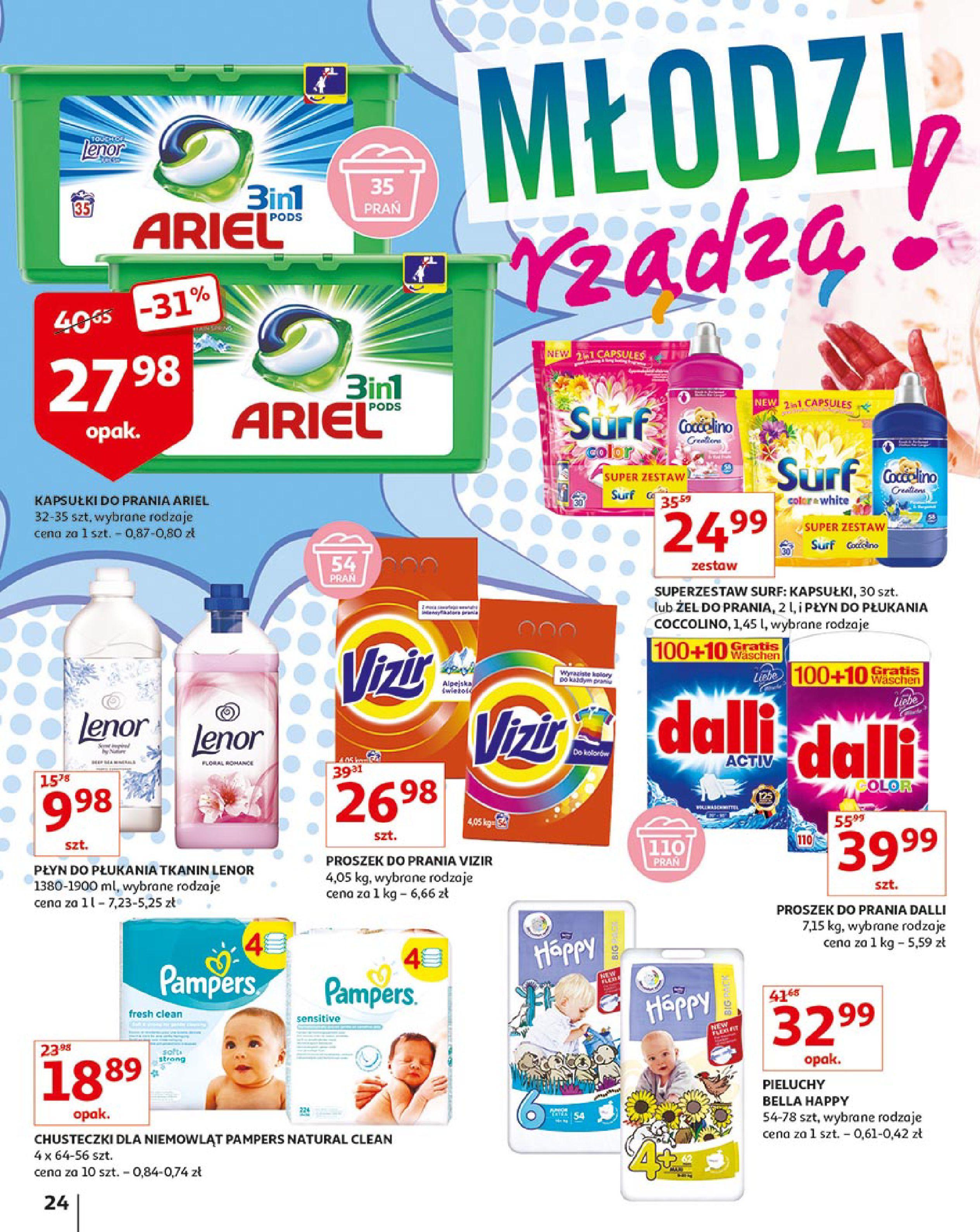 Gazetka Auchan - Młodzi rządzą-15.08.2019-21.08.2019-page-24