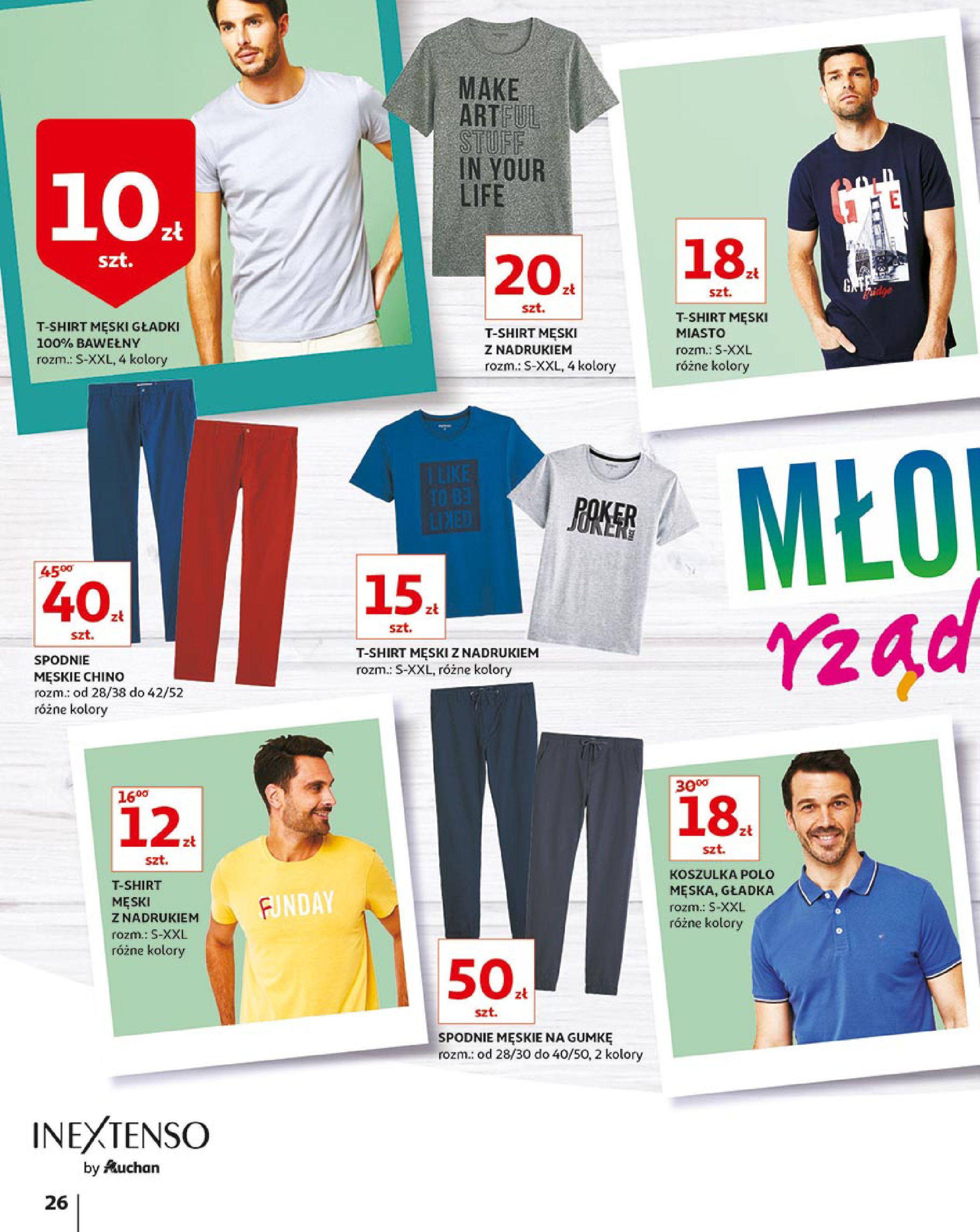 Gazetka Auchan - Młodzi rządzą-15.08.2019-21.08.2019-page-26