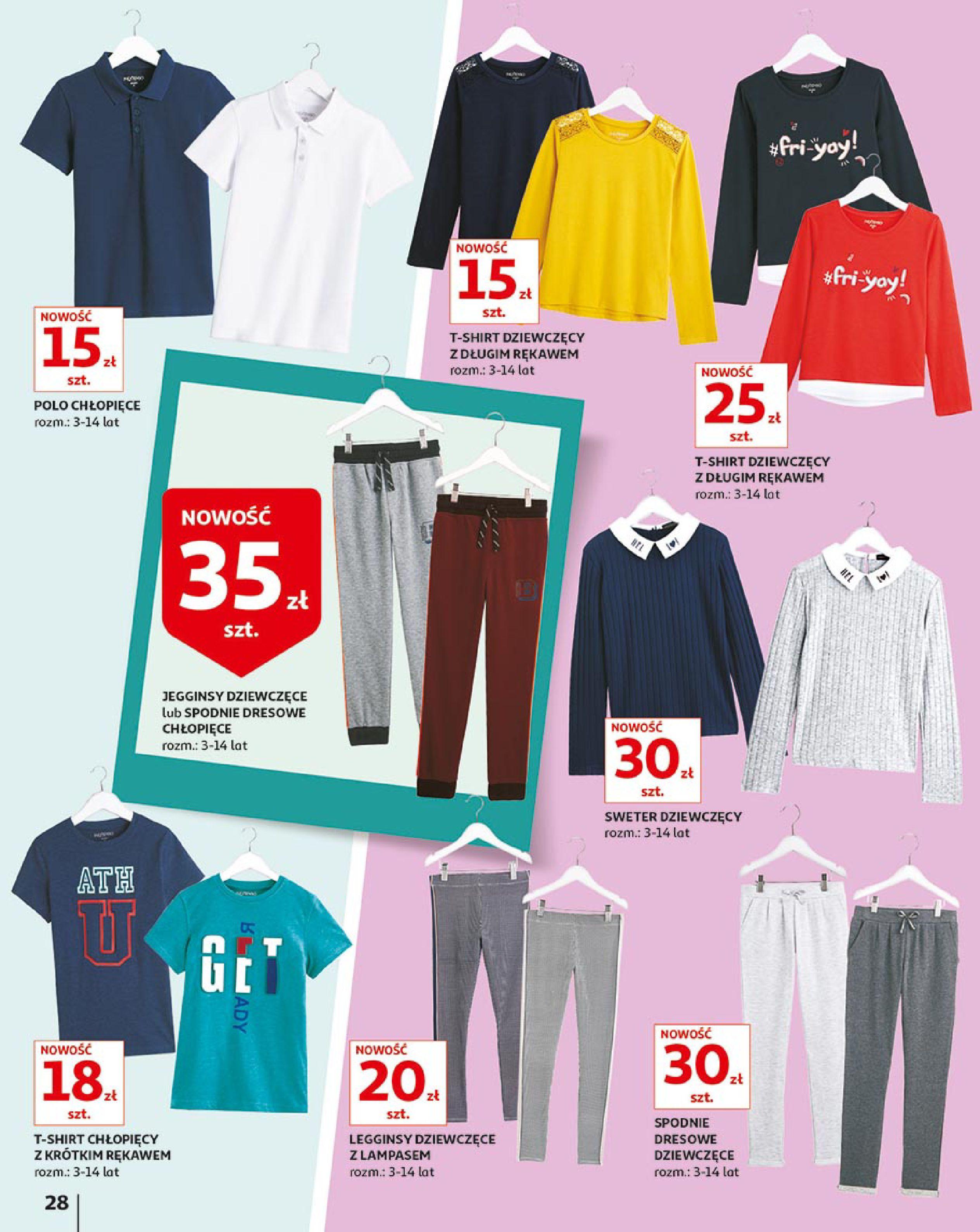 Gazetka Auchan - Młodzi rządzą-15.08.2019-21.08.2019-page-28