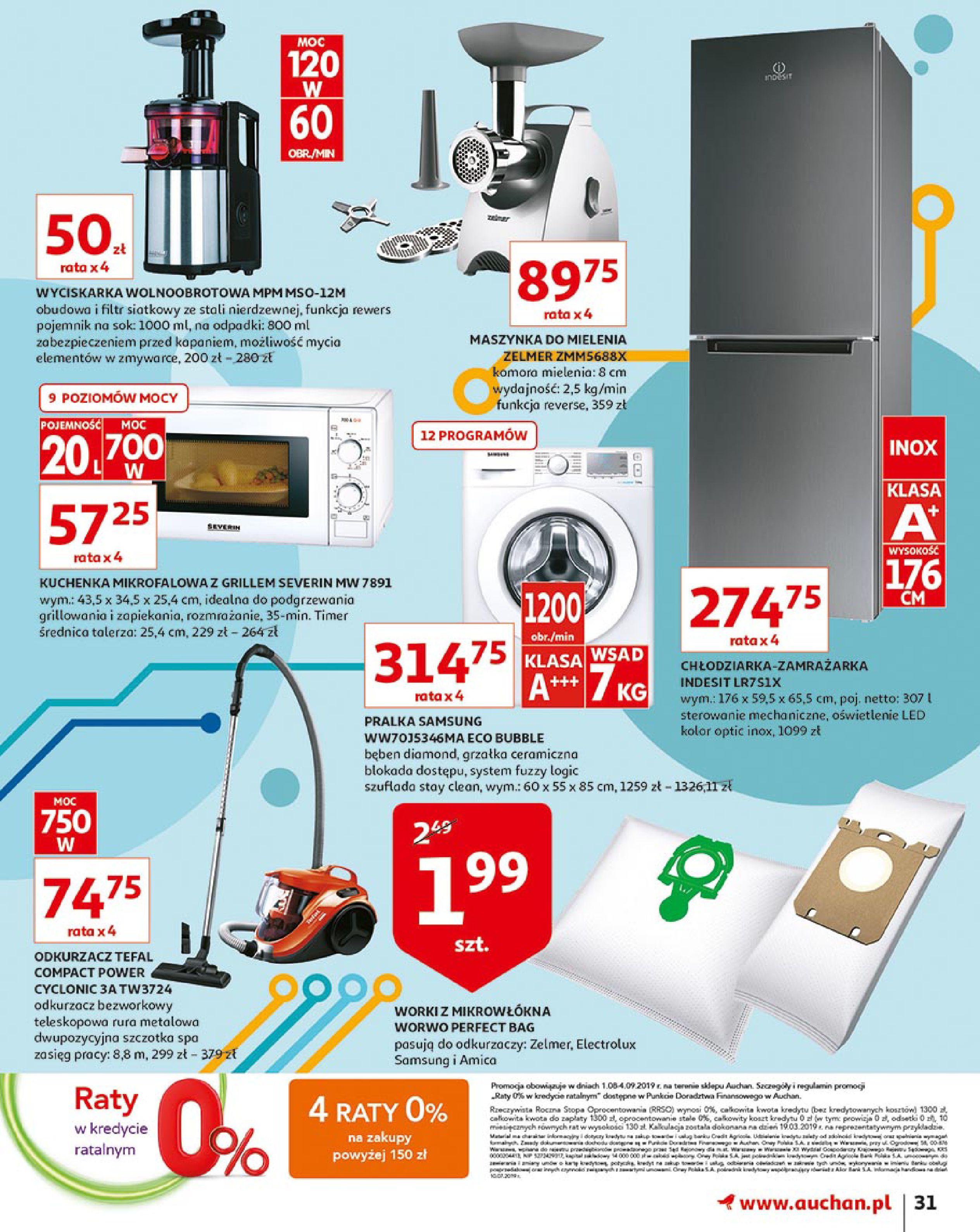Gazetka Auchan - Młodzi rządzą-15.08.2019-21.08.2019-page-31