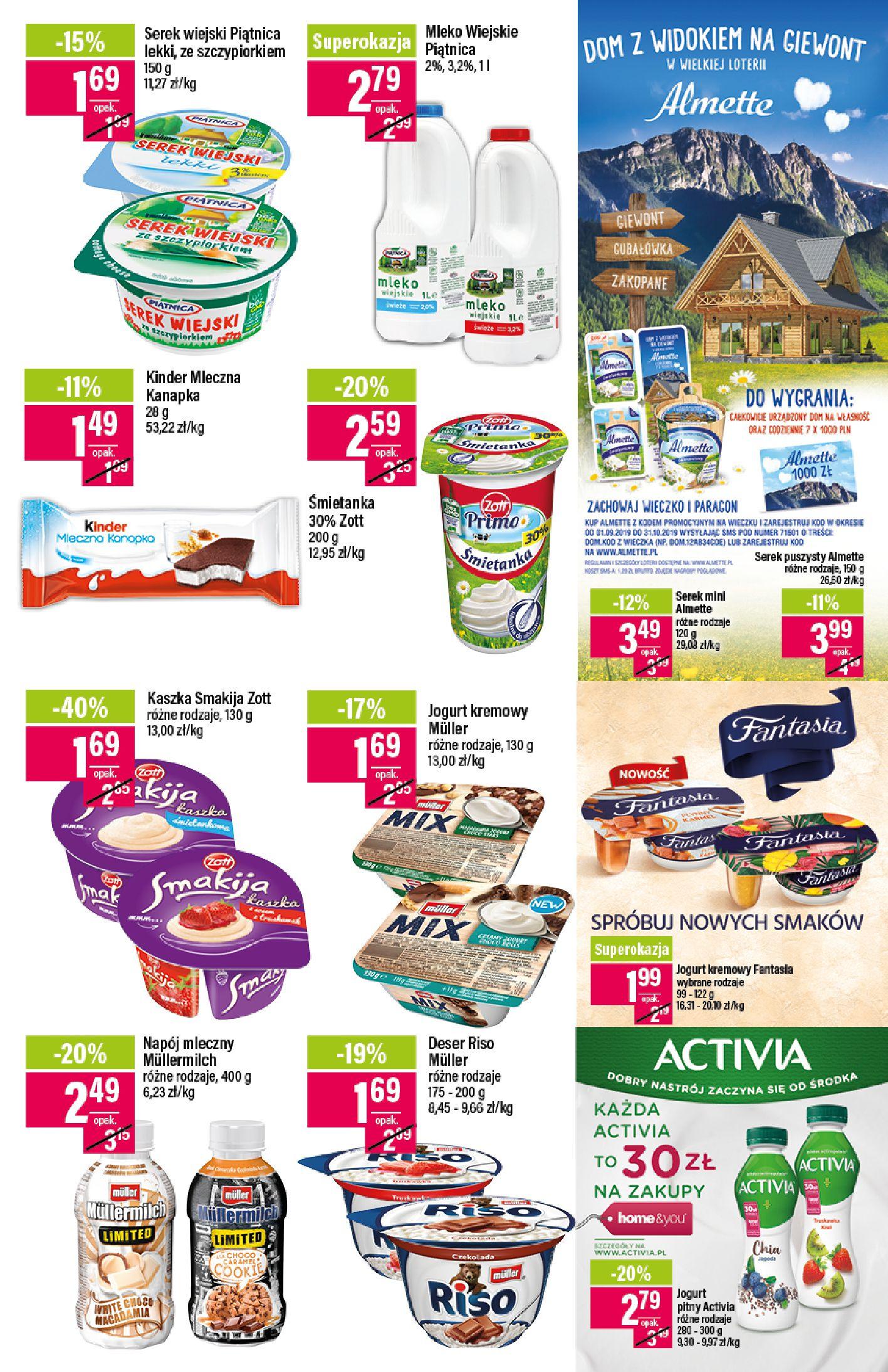 Gazetka Mila - Katalog Jesienne Promocje-07.10.2019-21.10.2019-page-13