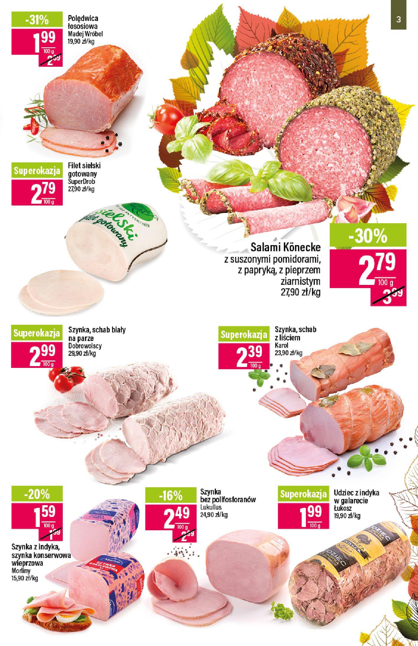 Gazetka Mila - Katalog Jesienne Promocje-07.10.2019-21.10.2019-page-3