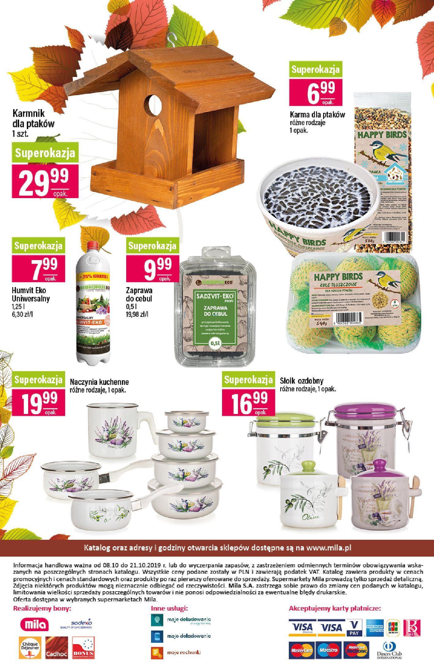 Gazetka Mila - Katalog Jesienne Promocje-07.10.2019-21.10.2019-page-24