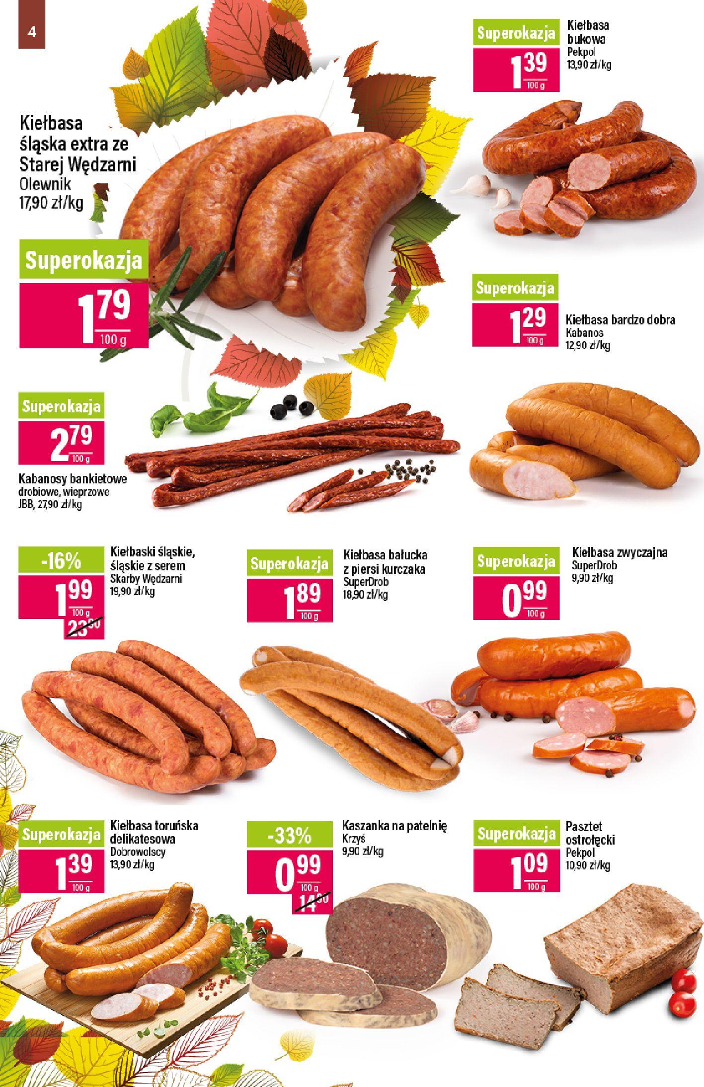 Gazetka Mila - Katalog Jesienne Promocje-07.10.2019-21.10.2019-page-4