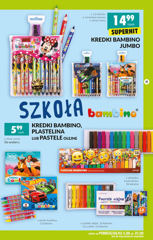 Gazetka Biedronka - Szkolna wyprawka-04.08.2019-25.08.2019-page-19