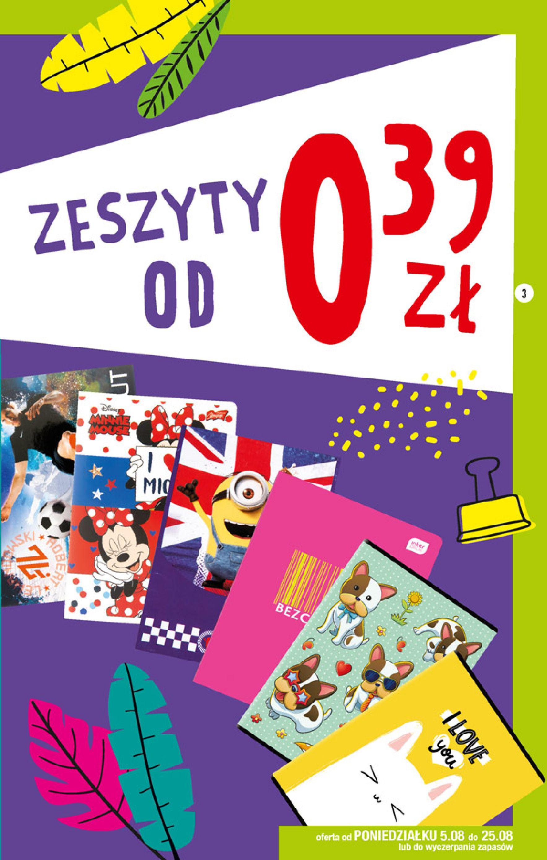 Gazetka Biedronka - Szkolna wyprawka-04.08.2019-25.08.2019-page-3