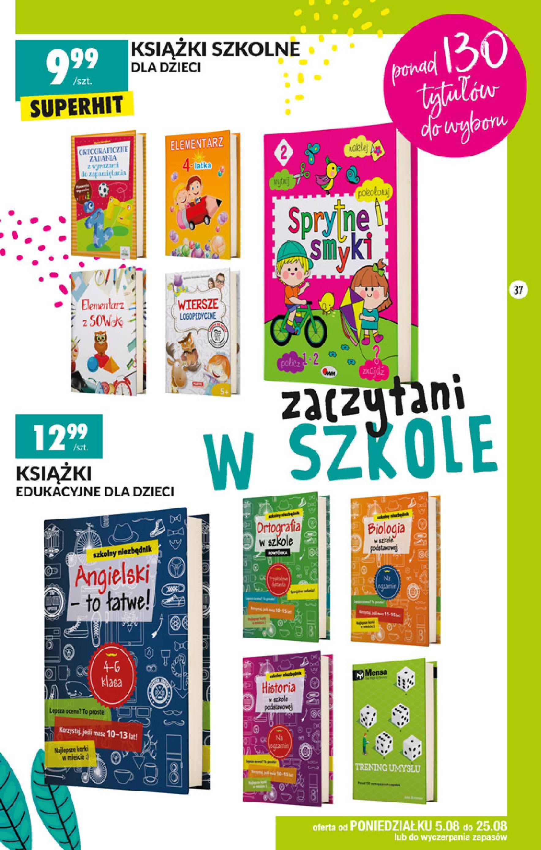 Gazetka Biedronka - Szkolna wyprawka-04.08.2019-25.08.2019-page-37