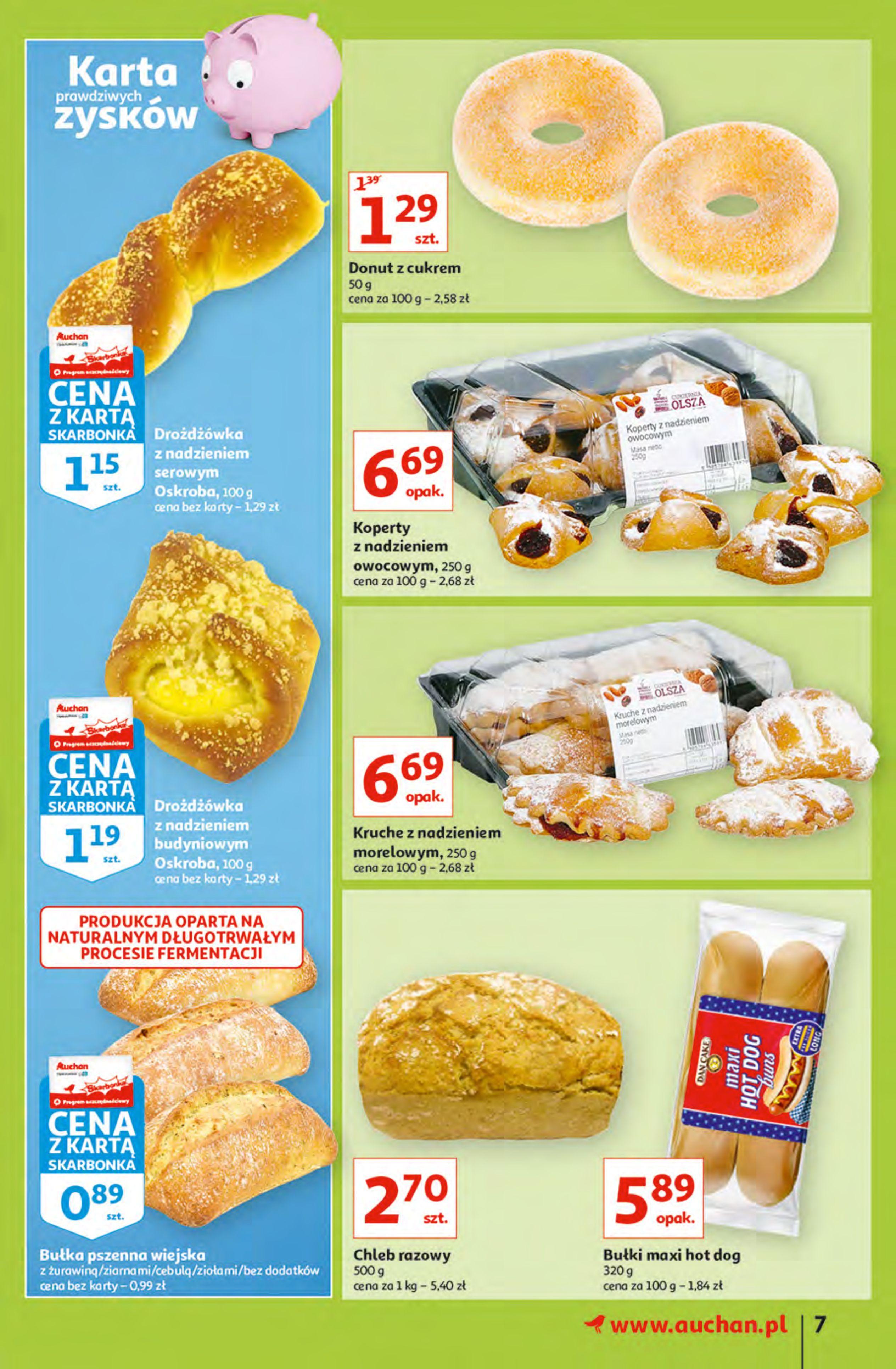 Gazetka Auchan: Gazetka Auchan - Hiperoszczędzanie z Kartą Skarbonka 2 Hipermarkety 2021-10-14 page-7