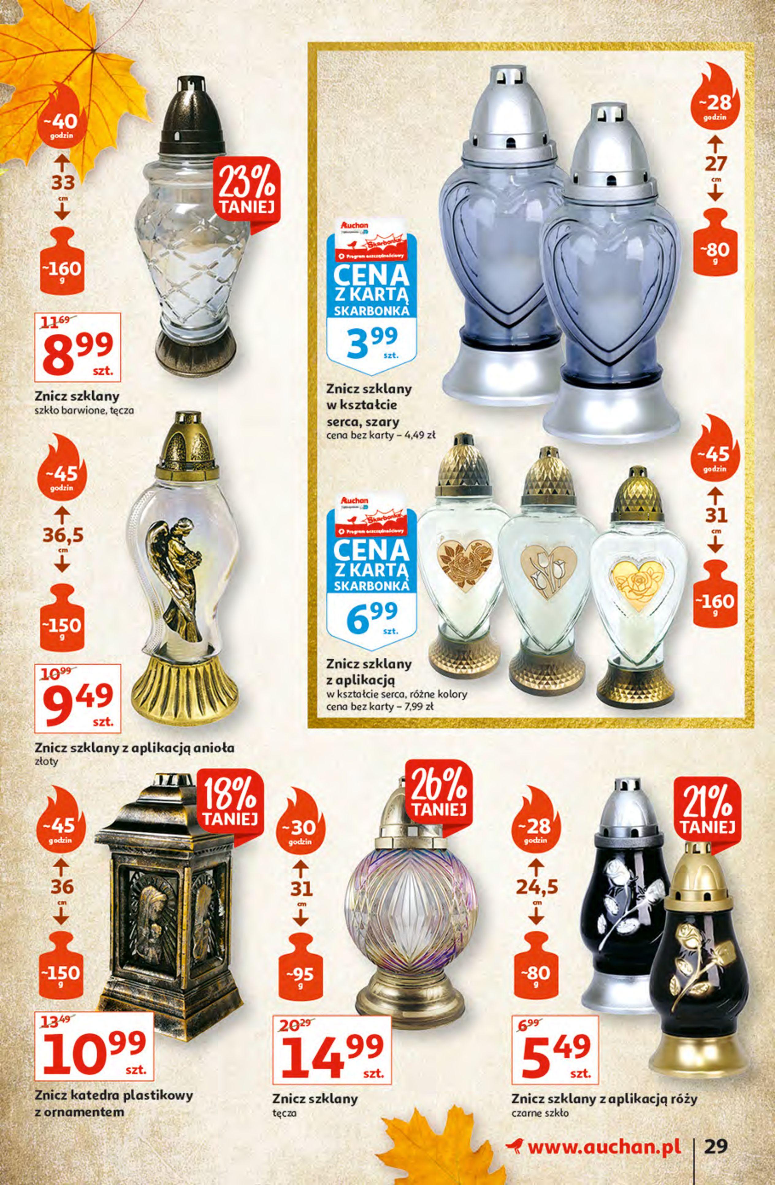 Gazetka Auchan: Gazetka Auchan - Hiperoszczędzanie z Kartą Skarbonka 2 Hipermarkety 2021-10-14 page-29